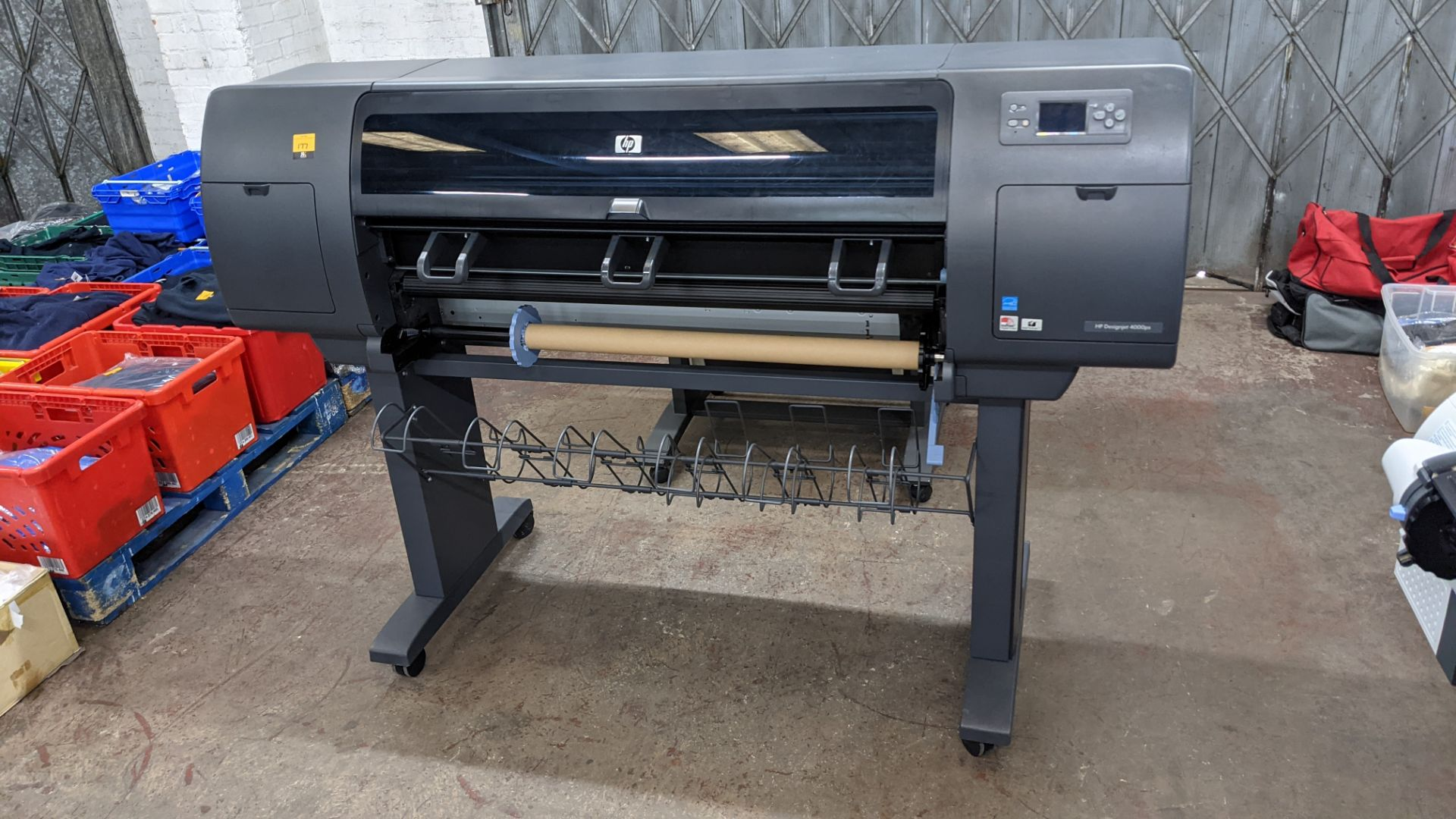 "HP DesignJet 4000ps wide format printer, model Q1274A (42"") - Image 2 of 7"