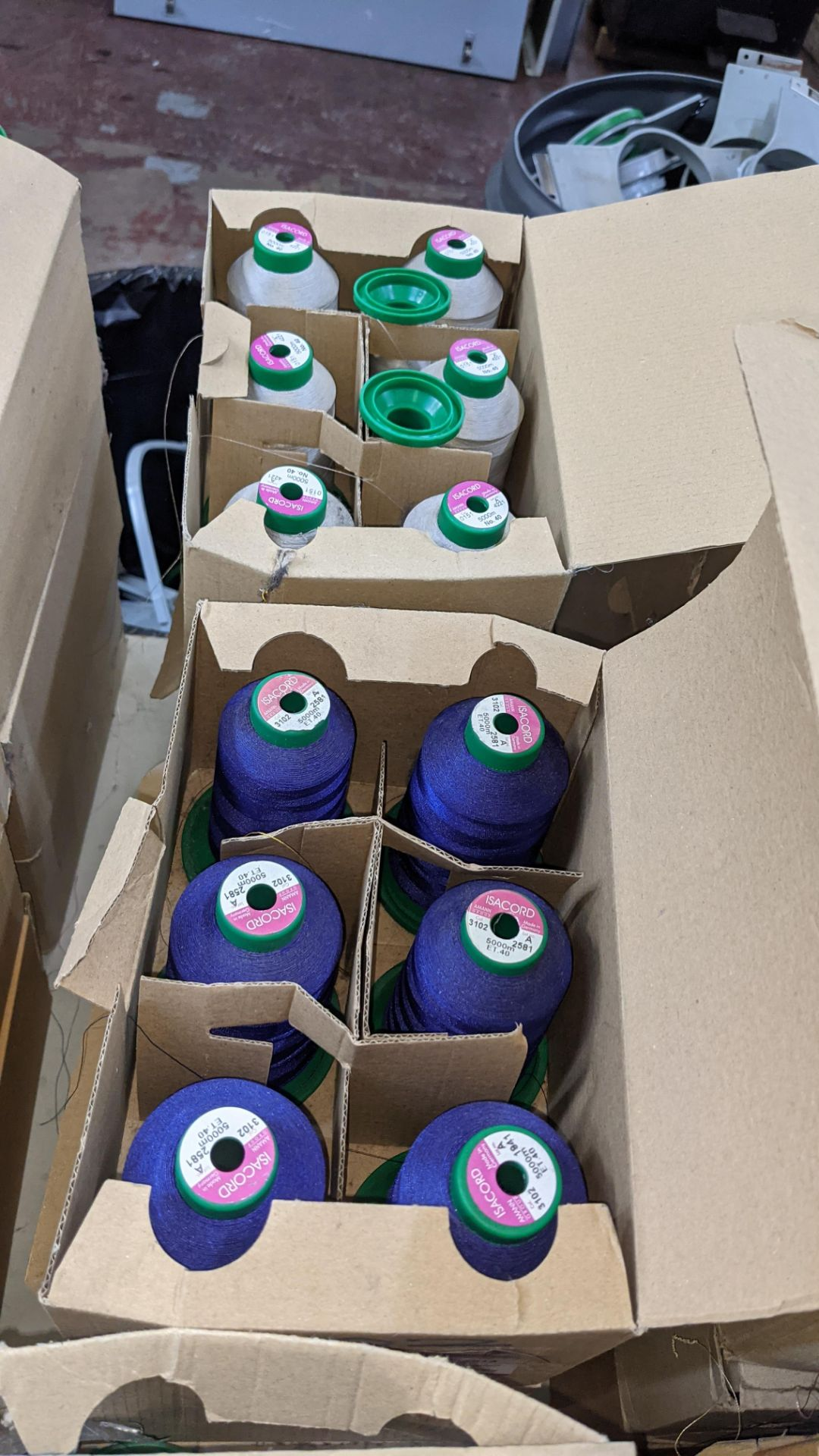 12 boxes of Ackermann Isacord (40) polyester thread - Image 7 of 7