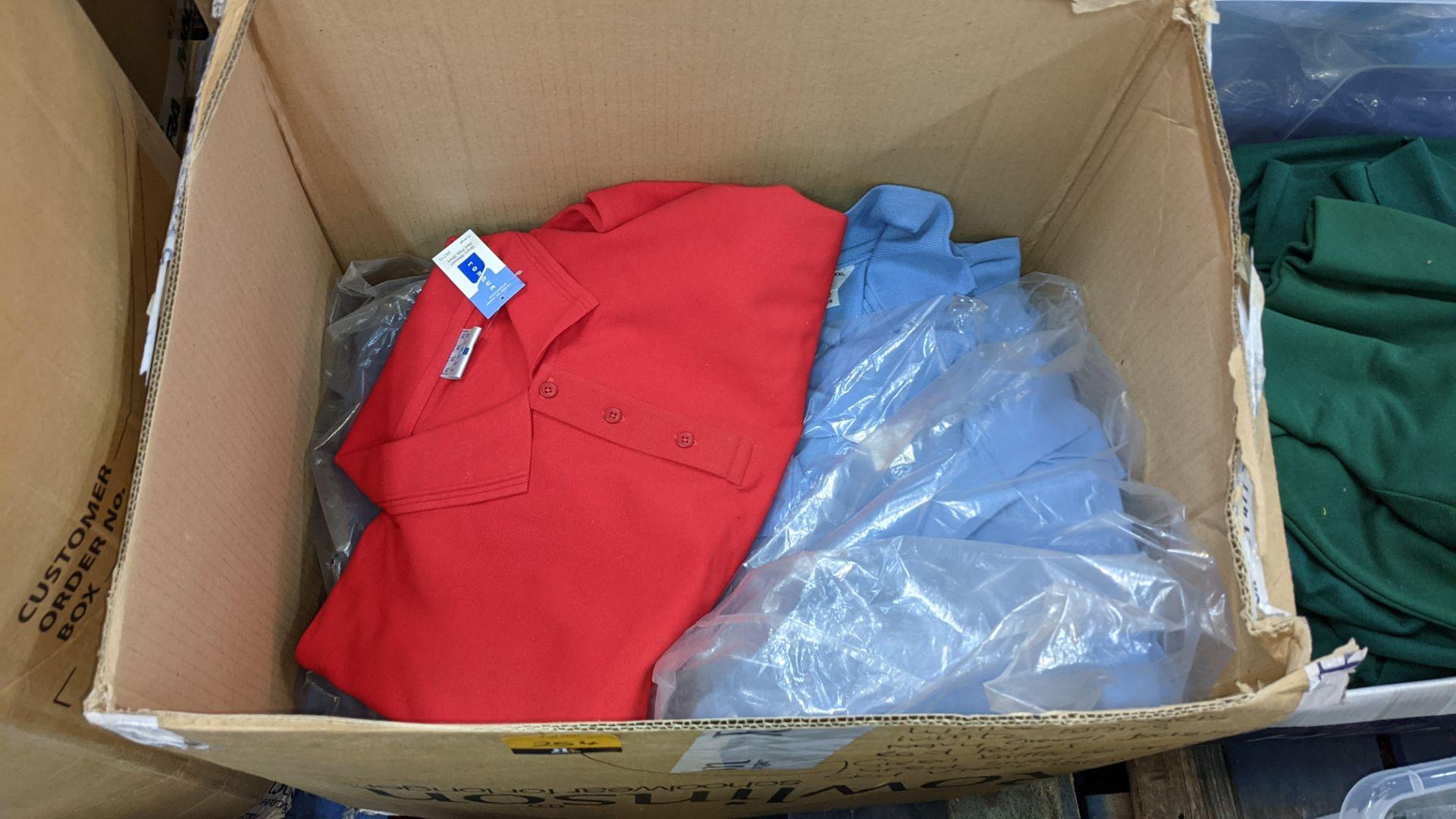 20 assorted polo shirts - 1 large box - Image 2 of 5