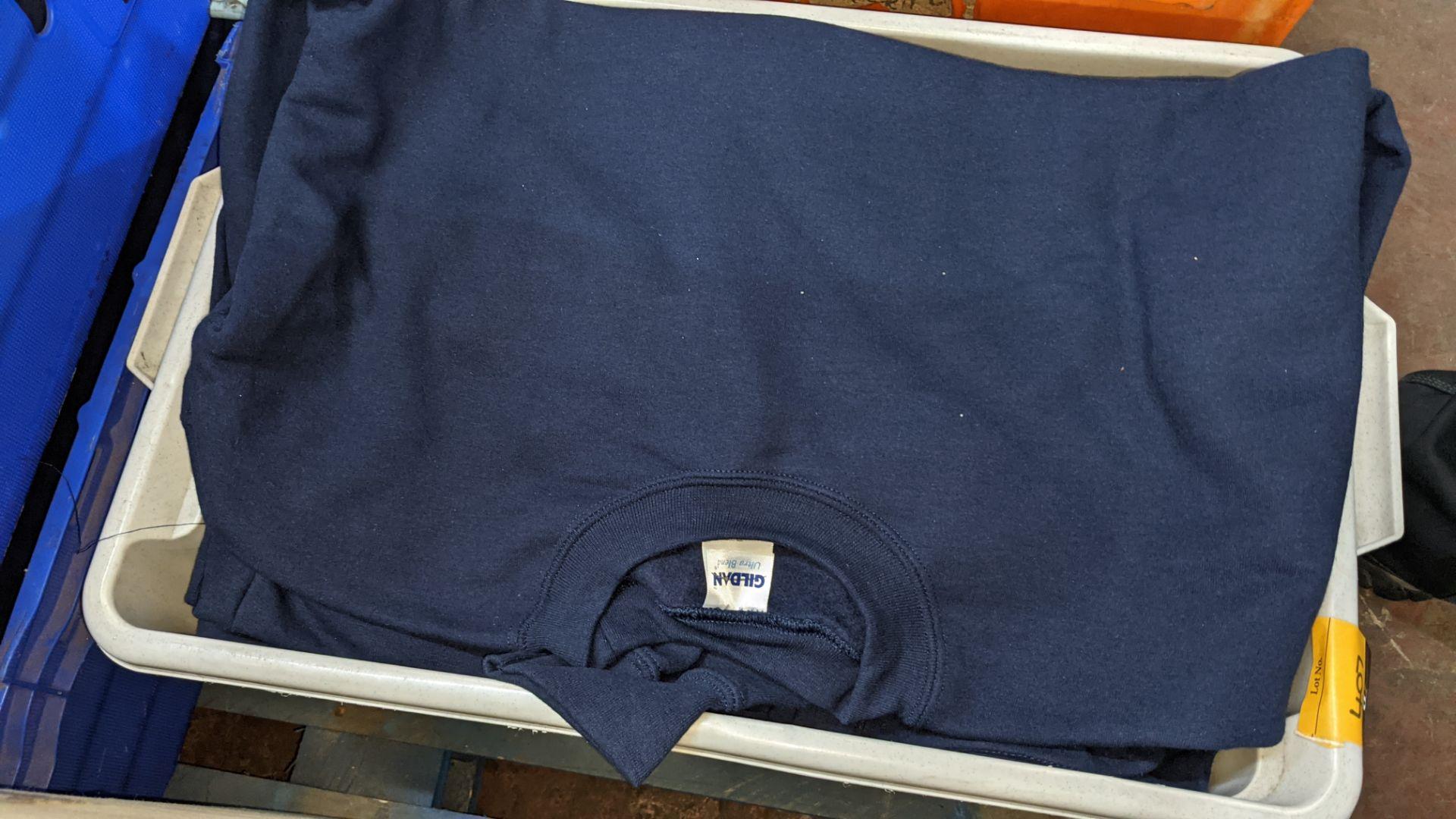 Quantity of blue sweatshirts - Image 5 of 6