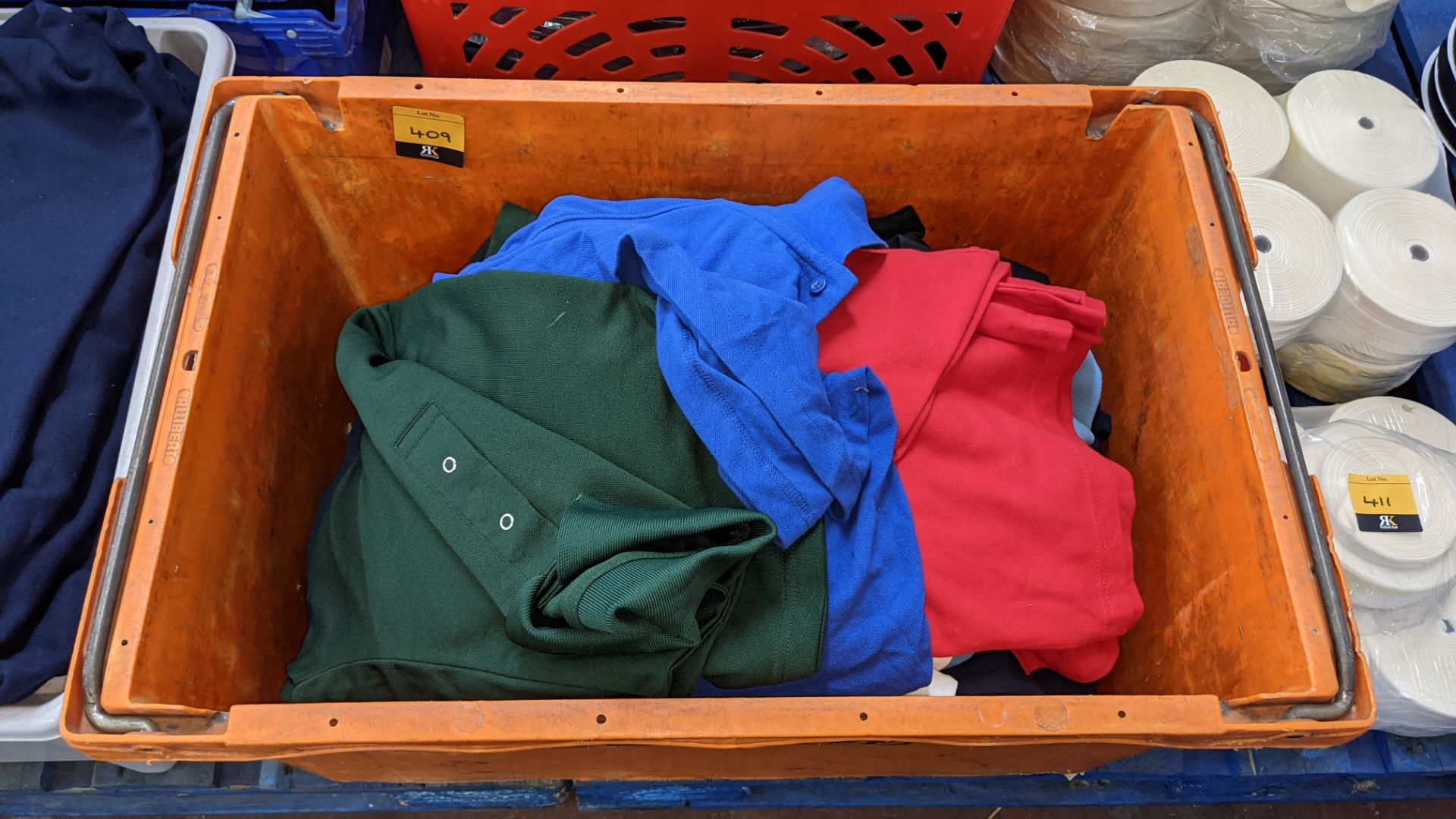 Quantity of assorted polo shirts & similar - the contents of 1 large crate - Image 2 of 5