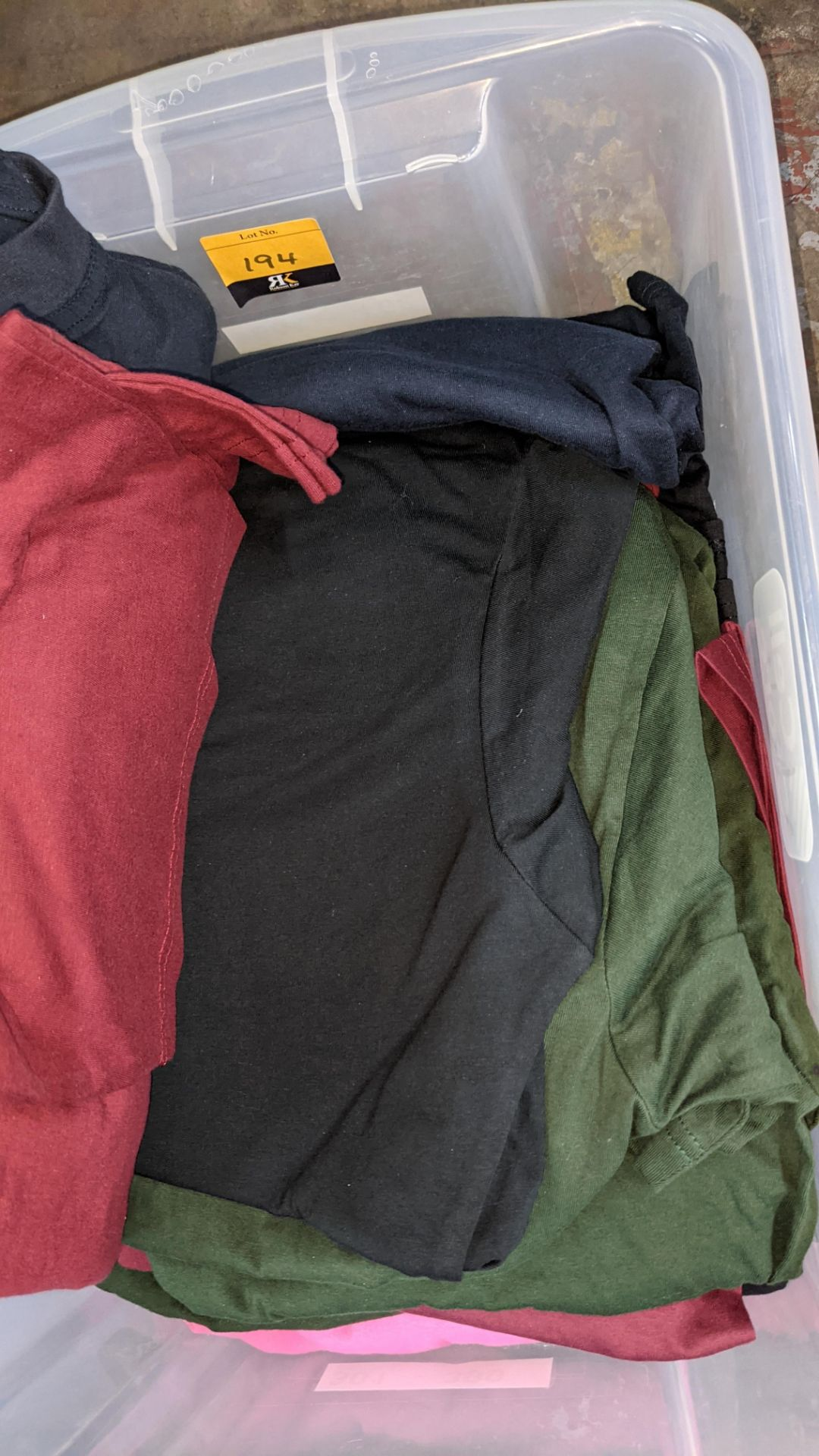 Approx 25 off Uneek assorted t-shirts - Image 4 of 7