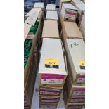 16 boxes of Ackermann Isacord (40) polyester thread