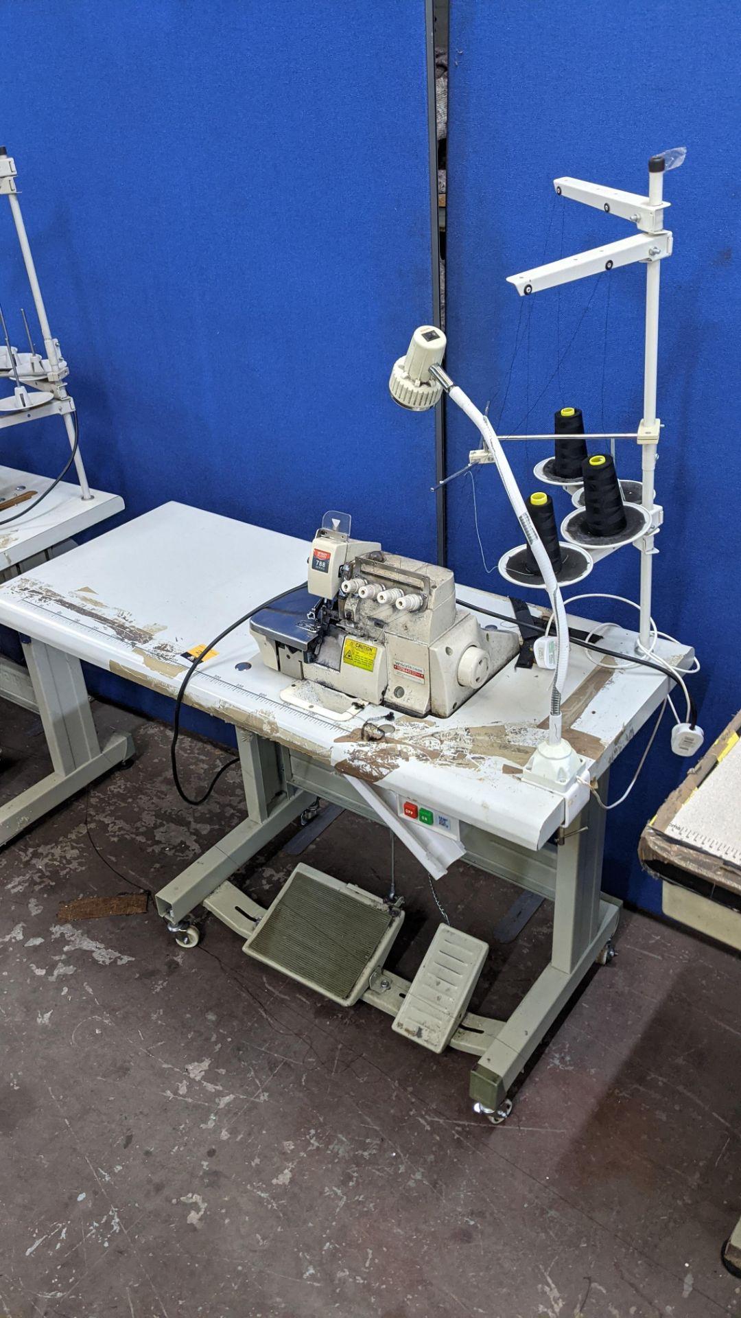 Yingon 788 series overlocker model YG788-4-13 - Image 4 of 16