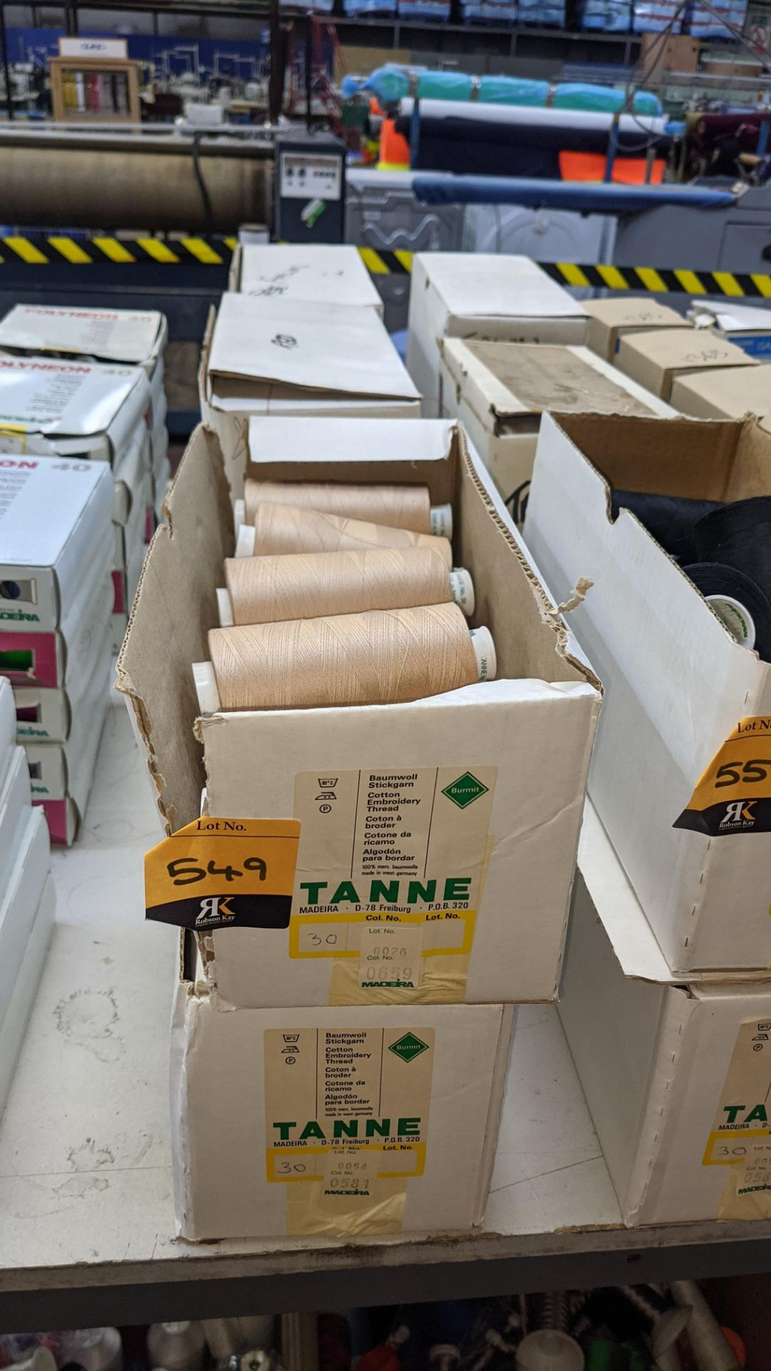 6 boxes of Madeira Tanne cotton embroidery thread - Image 2 of 8