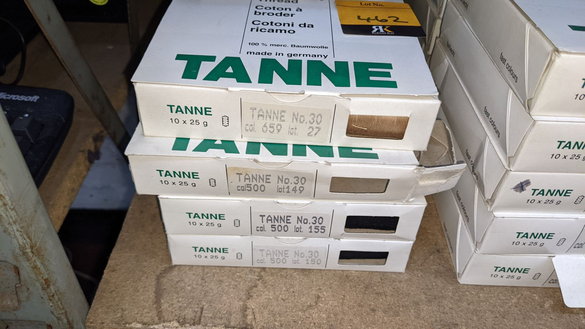 14 boxes of Madeira Tanne (Burmit) cotton embroidery thread - Image 3 of 8