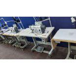 Zoje model ZJ9701R-D3/PF lockstitch sewing machine with model WR-501 digital controller