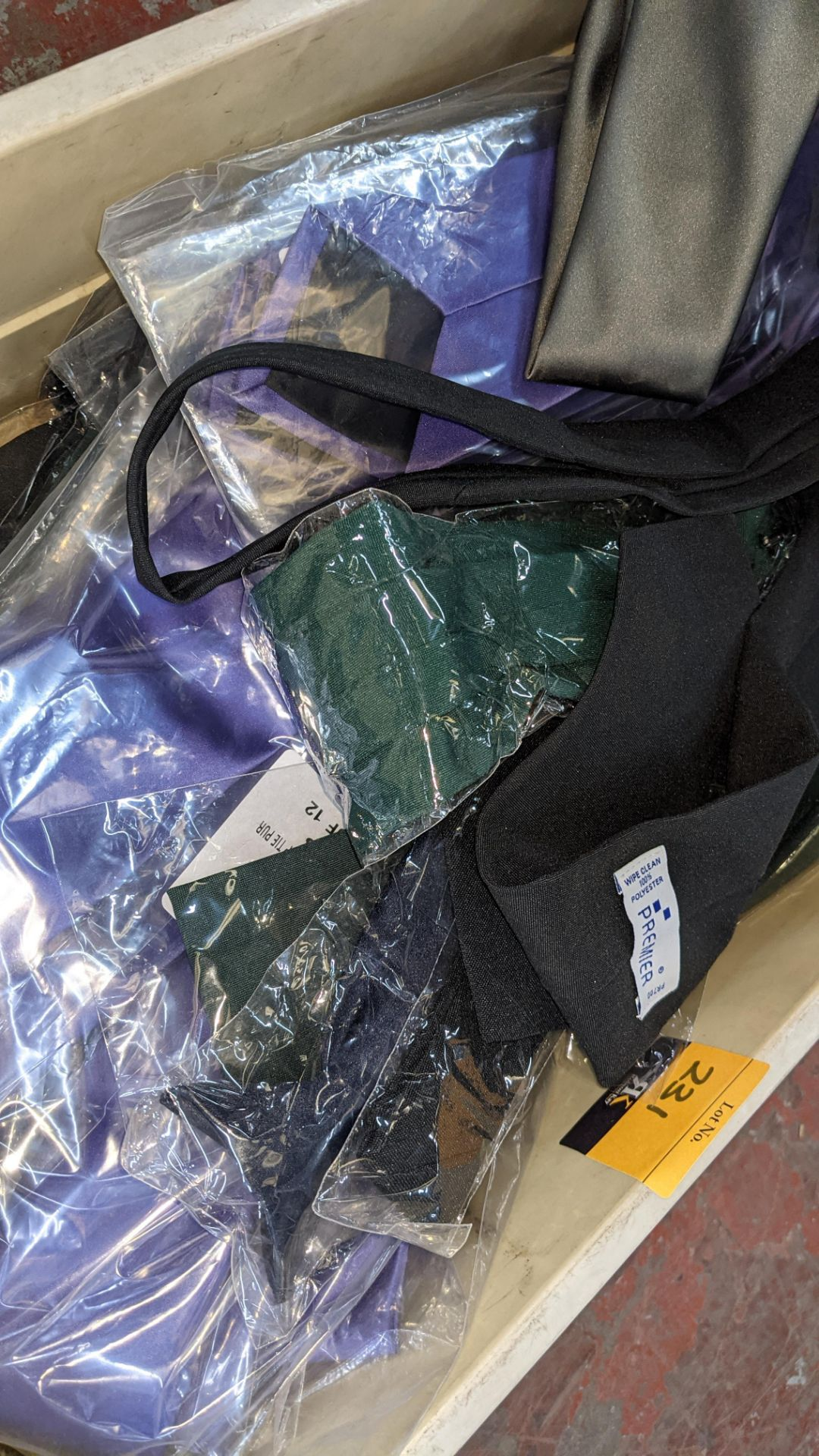 The contents of a crate of assorted ties. NB crate excluded - Image 4 of 5