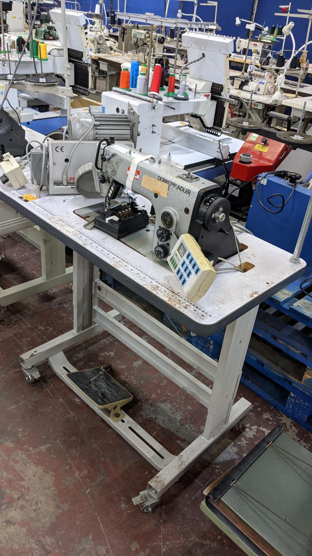 Durkopp Adler type 0271-L40042 sewing machine - Image 3 of 19