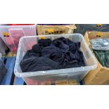 Approx 5 off assorted fleece tops - the contents of 1 large crate. NB crate excluded