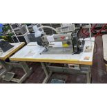 Highlead model GC128-M-D3 sewing machine with model C-60M digital controller