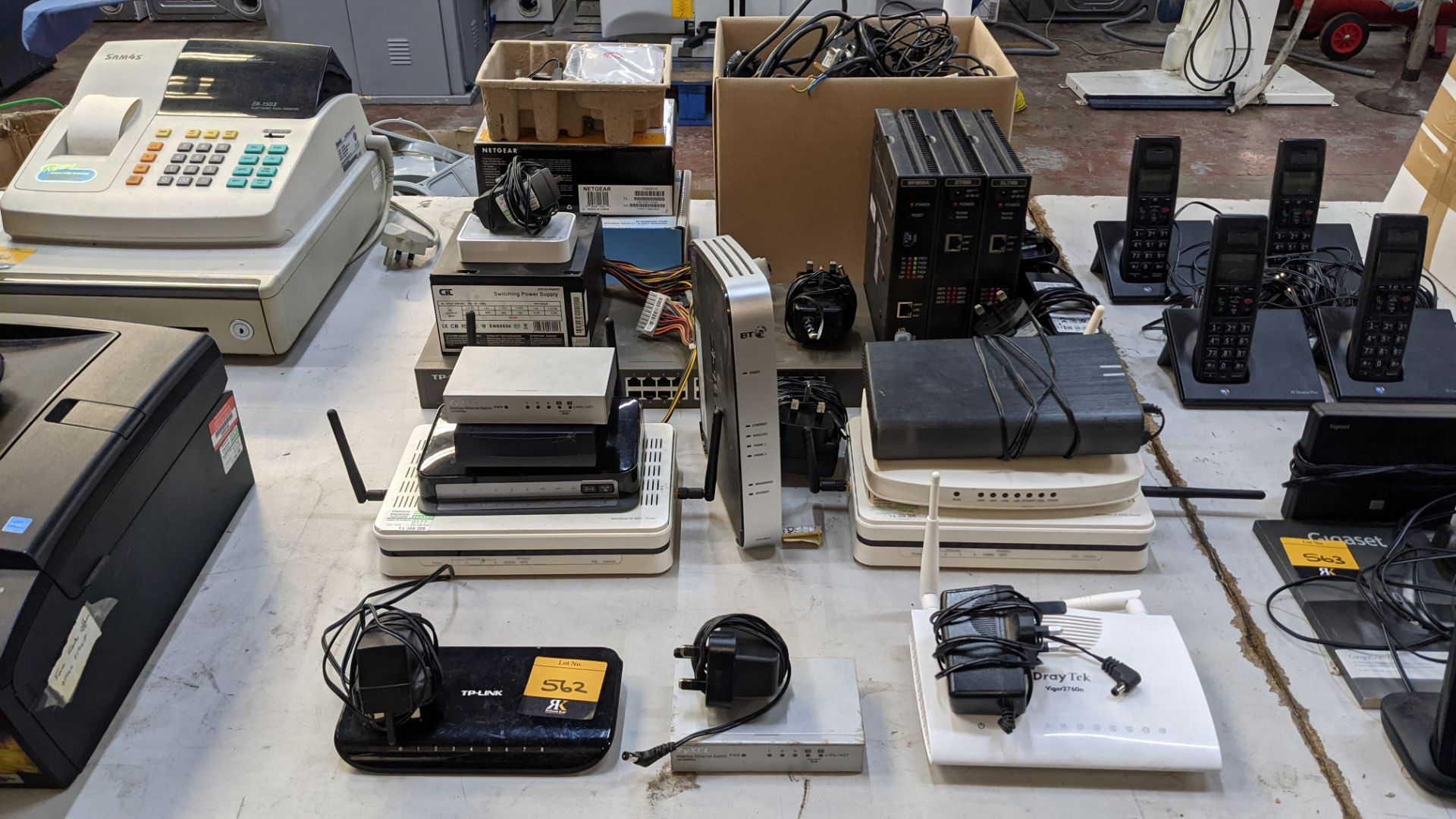 Very large quantity of assorted switches, hubs & other networking devices as pictured - Image 2 of 9