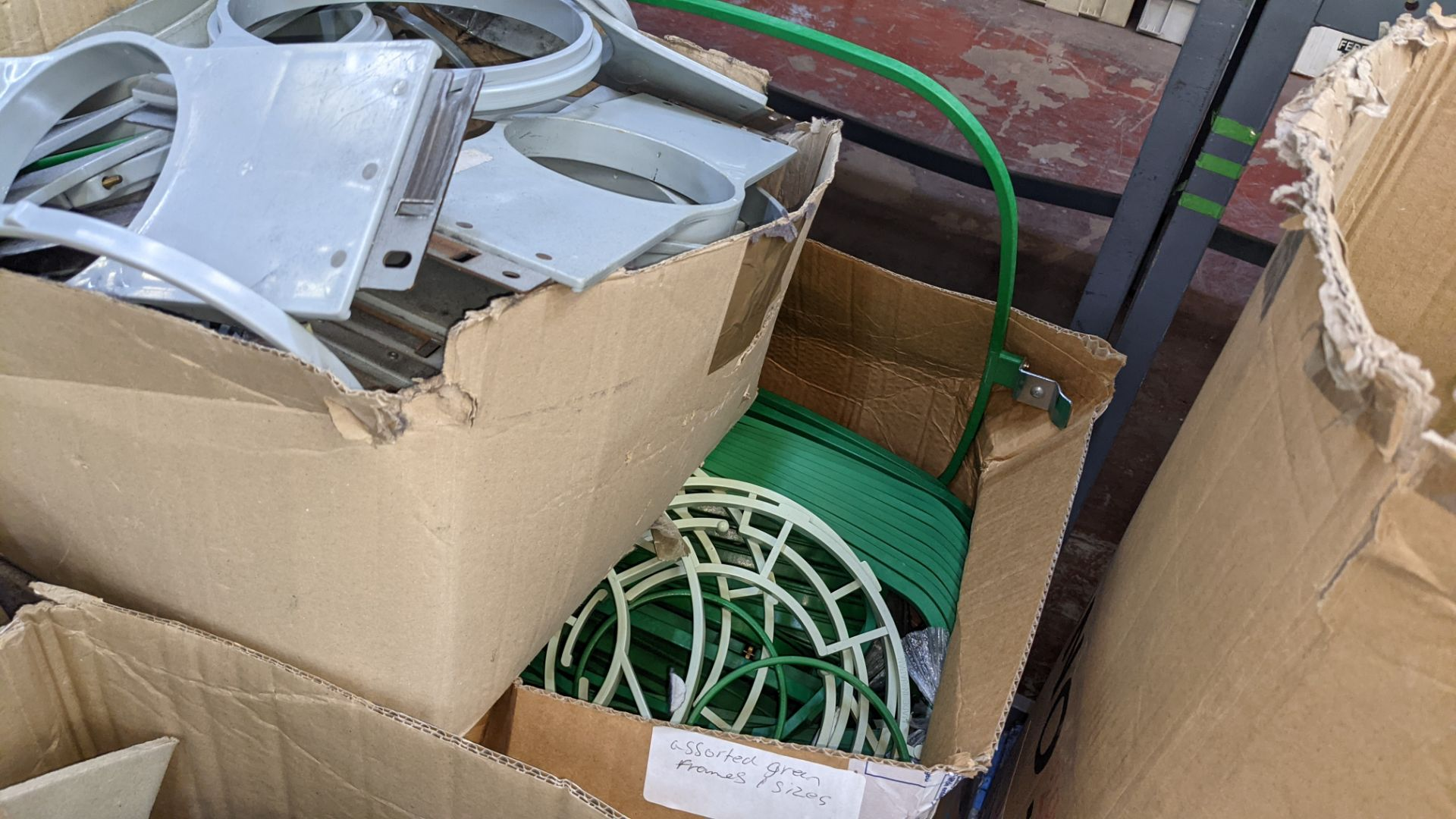 The contents of a pallet of assorted embroidery machine frames & similar - this lot consists of 7 as - Image 9 of 9