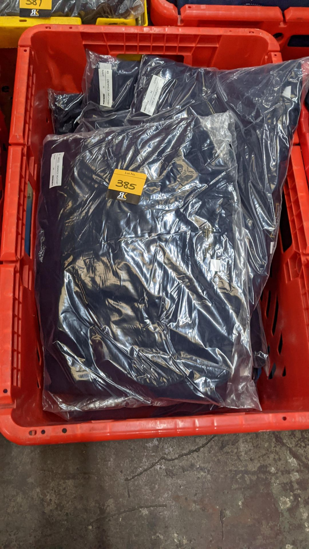 Approx 12 off navy sweatshirts - Image 2 of 5