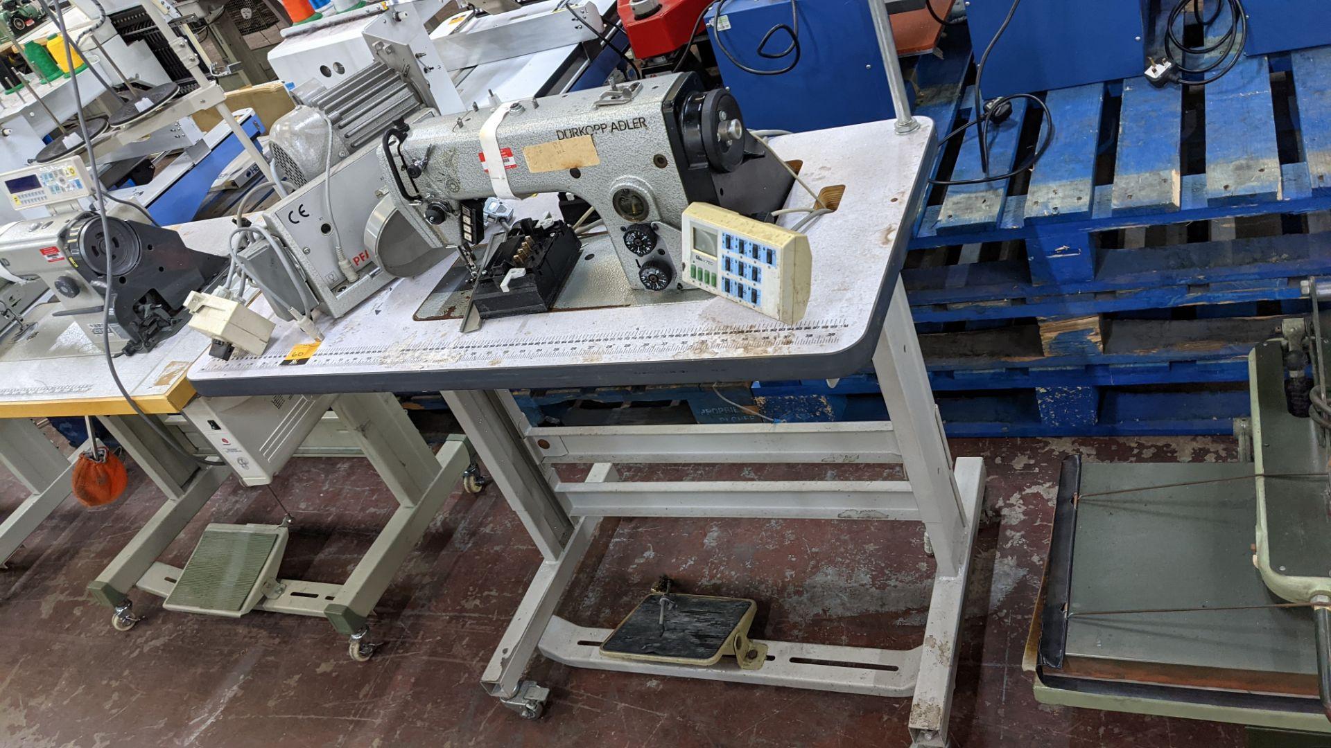 Durkopp Adler type 0271-L40042 sewing machine - Image 2 of 19