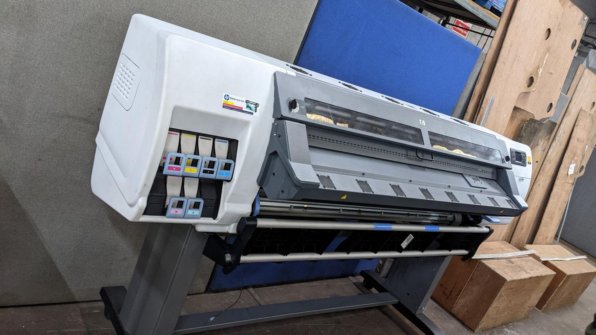 HP DesignJet L25500 wide format printer - Image 3 of 9
