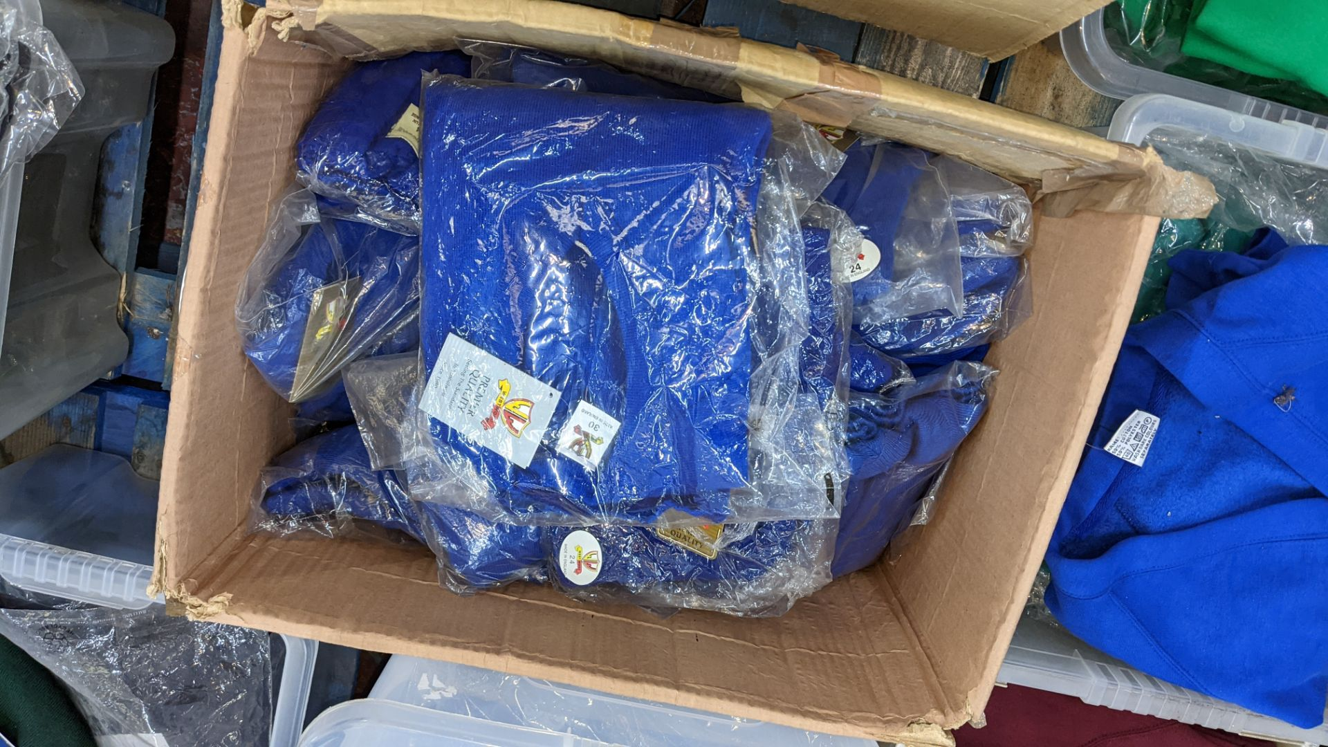 2 boxes of blue children's cardigans & jumpers - Image 4 of 4