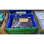 11 off workwear blue sweatshirts - the contents of 1 crate. NB crate excluded