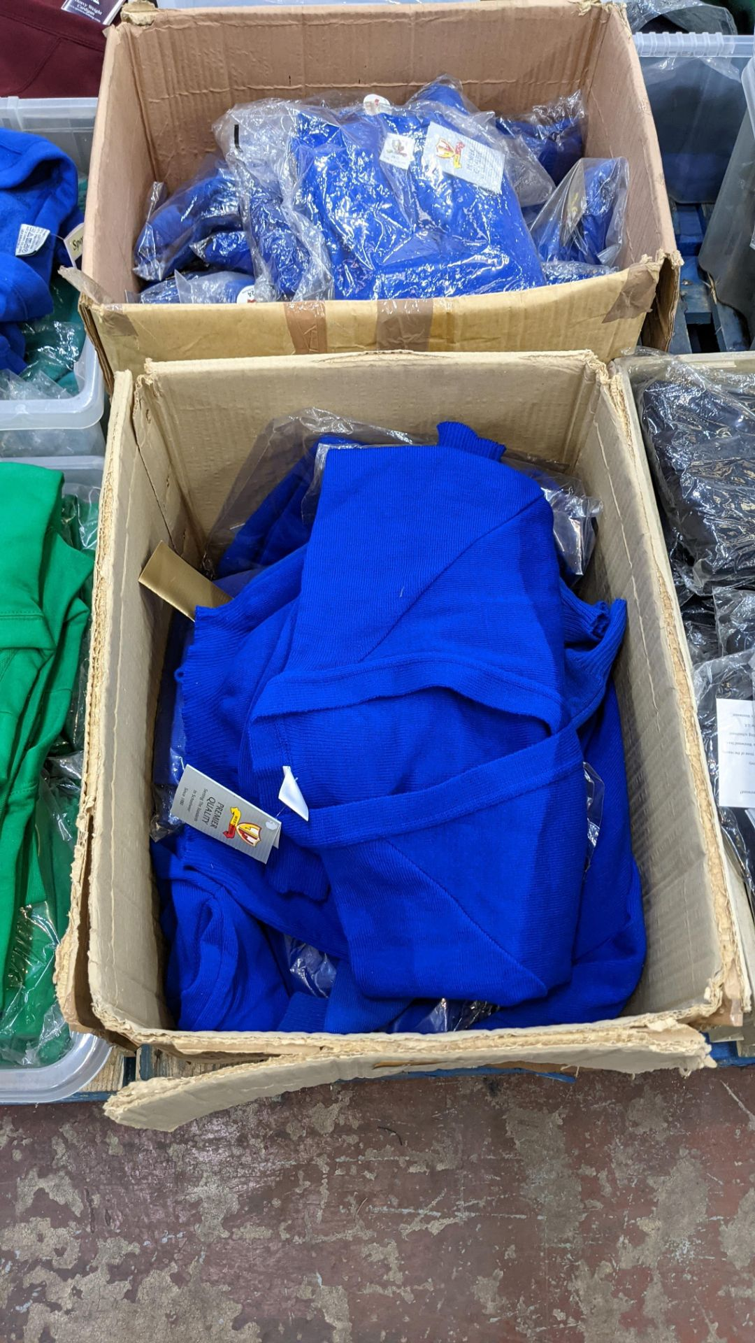 2 boxes of blue children's cardigans & jumpers - Image 2 of 4