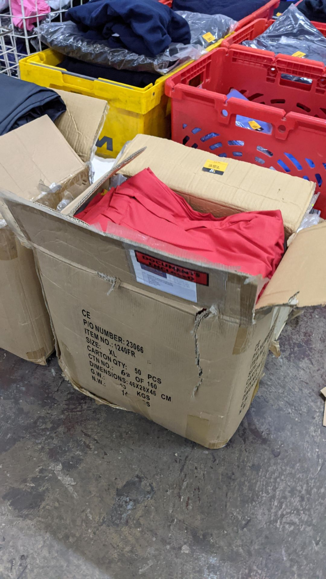 Approx 34 pairs of red trousers - Image 2 of 6