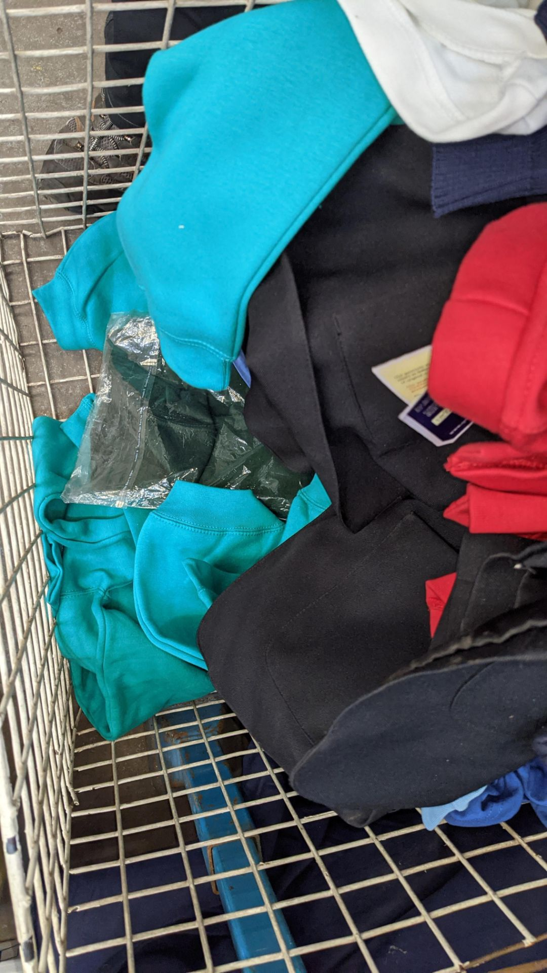 The contents of a cage of children's clothing, sweatshirts, t-shirts & more - Image 6 of 7