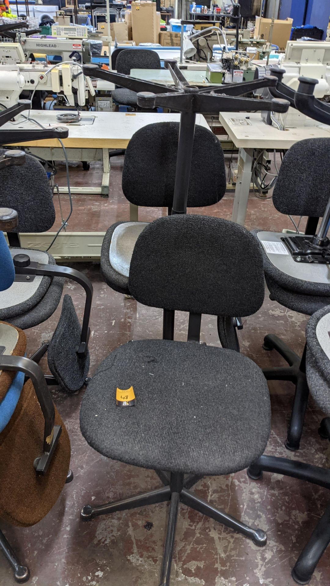 7 off assorted machinists chairs - Image 6 of 9
