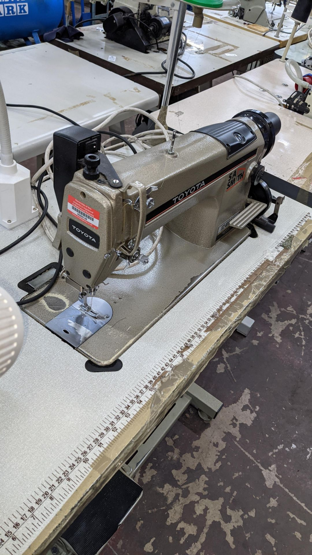 Toyota sewing machine - Image 10 of 17