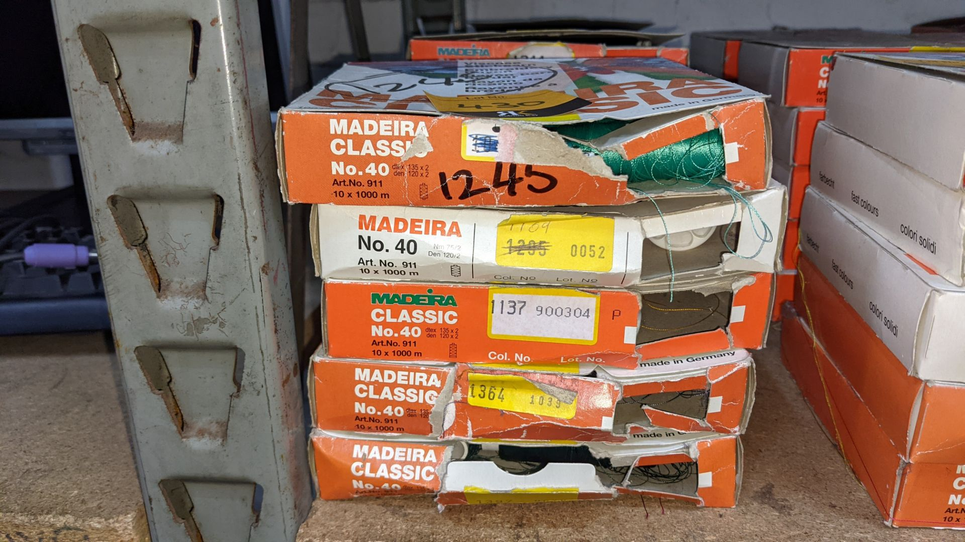 15 assorted boxes of Madeira Classic No. 40 embroidery rayon thread - Image 3 of 8