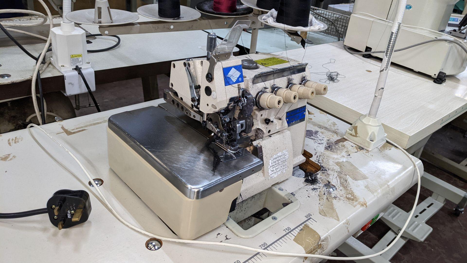 Highlead overlocker model GM288-4 - Image 7 of 16