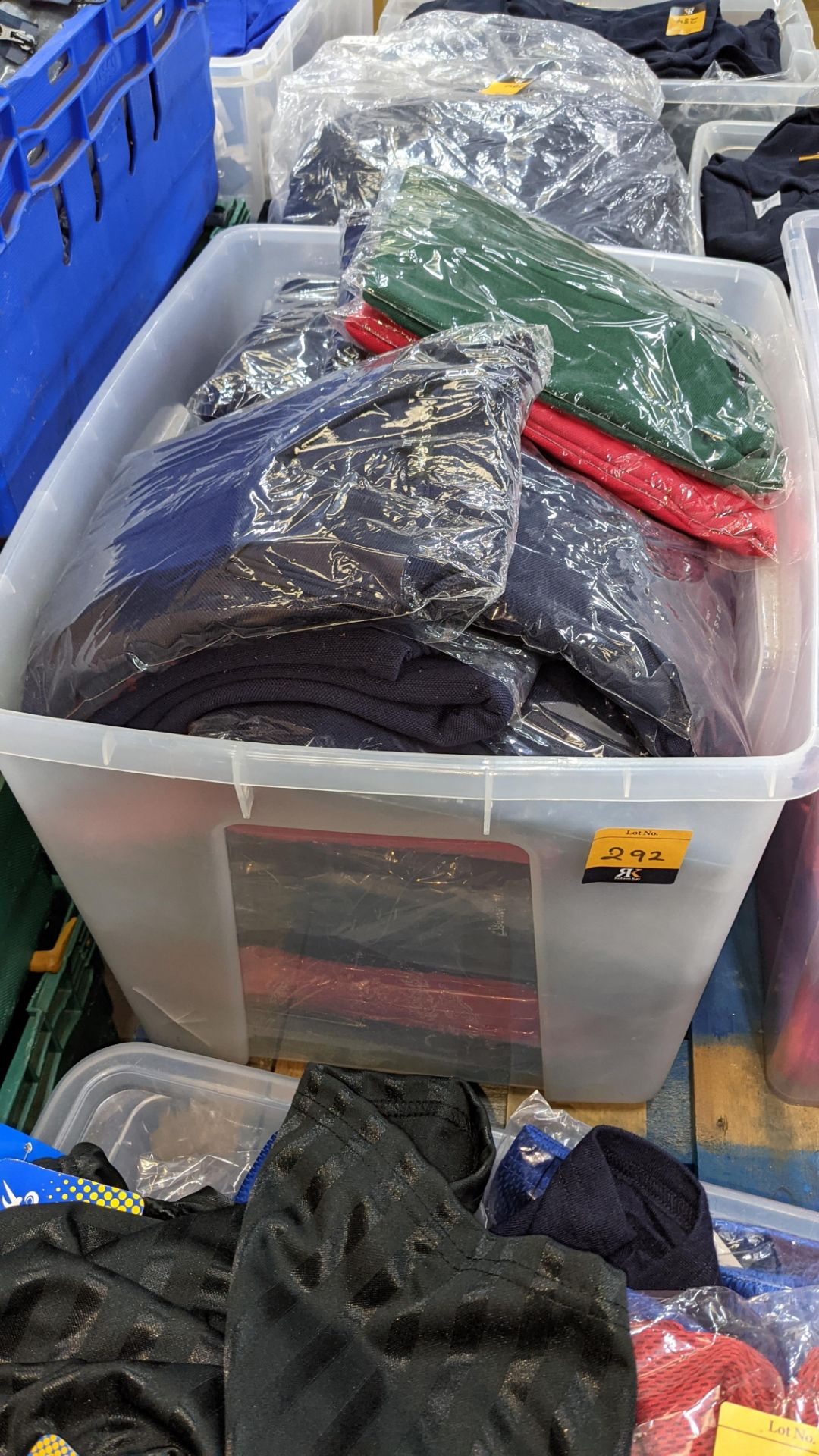 Large quantity of assorted polo shirts - the contents of 1 large crate. NB crate excluded - Image 2 of 5
