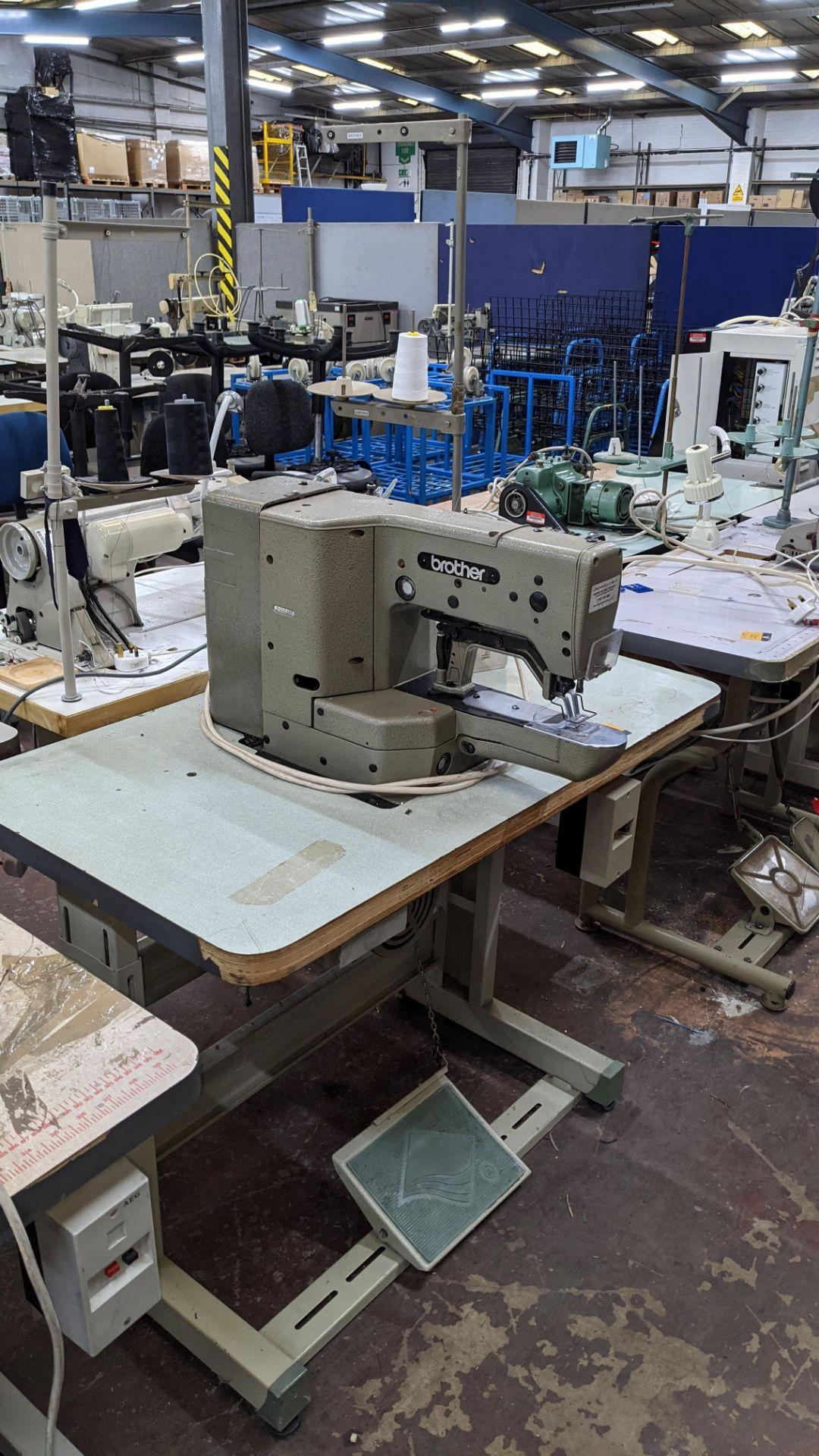 Brother bar tack sewing machine model LK3-B430-2 - Image 15 of 15