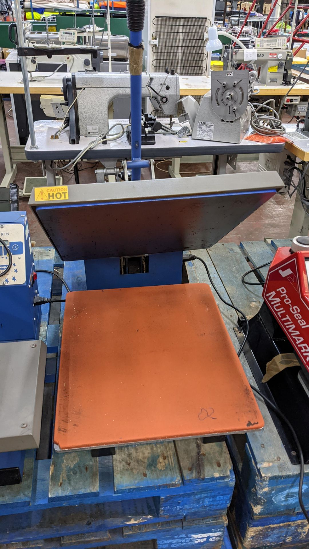 Europa Jarin benchtop heat transfer press model HF5000 - Image 5 of 13