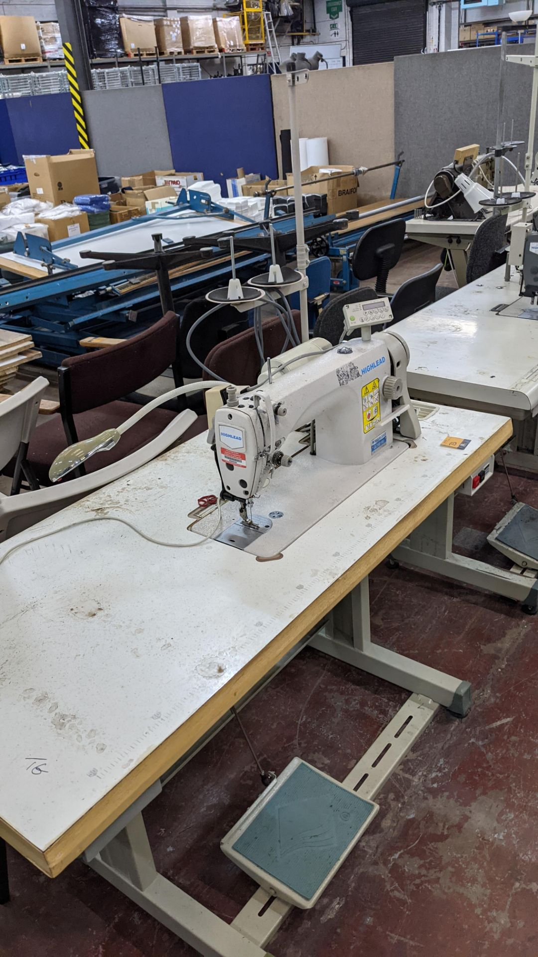 Highlead model GC188-MD sewing machine with model F-10 digital controller - Image 13 of 16