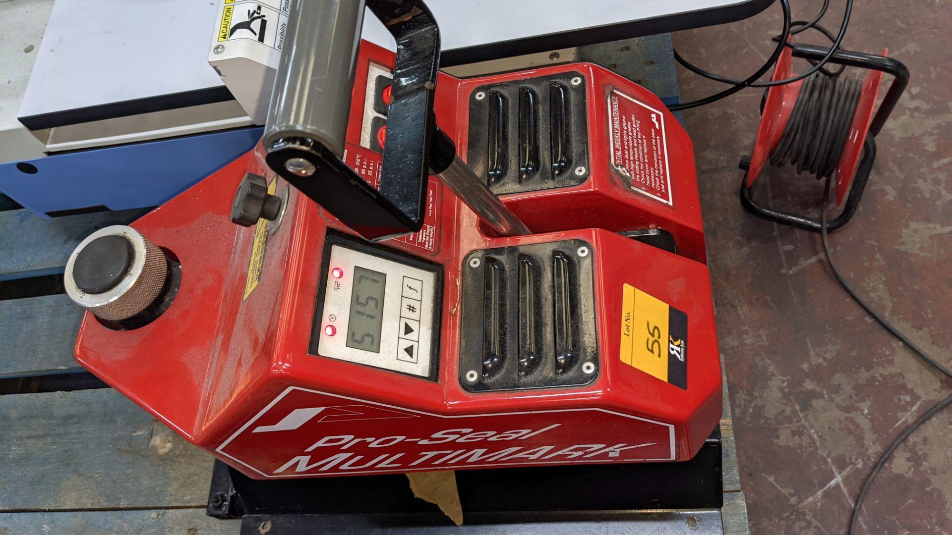 Pro-Seal Multimark heat sealing machine - Image 6 of 10