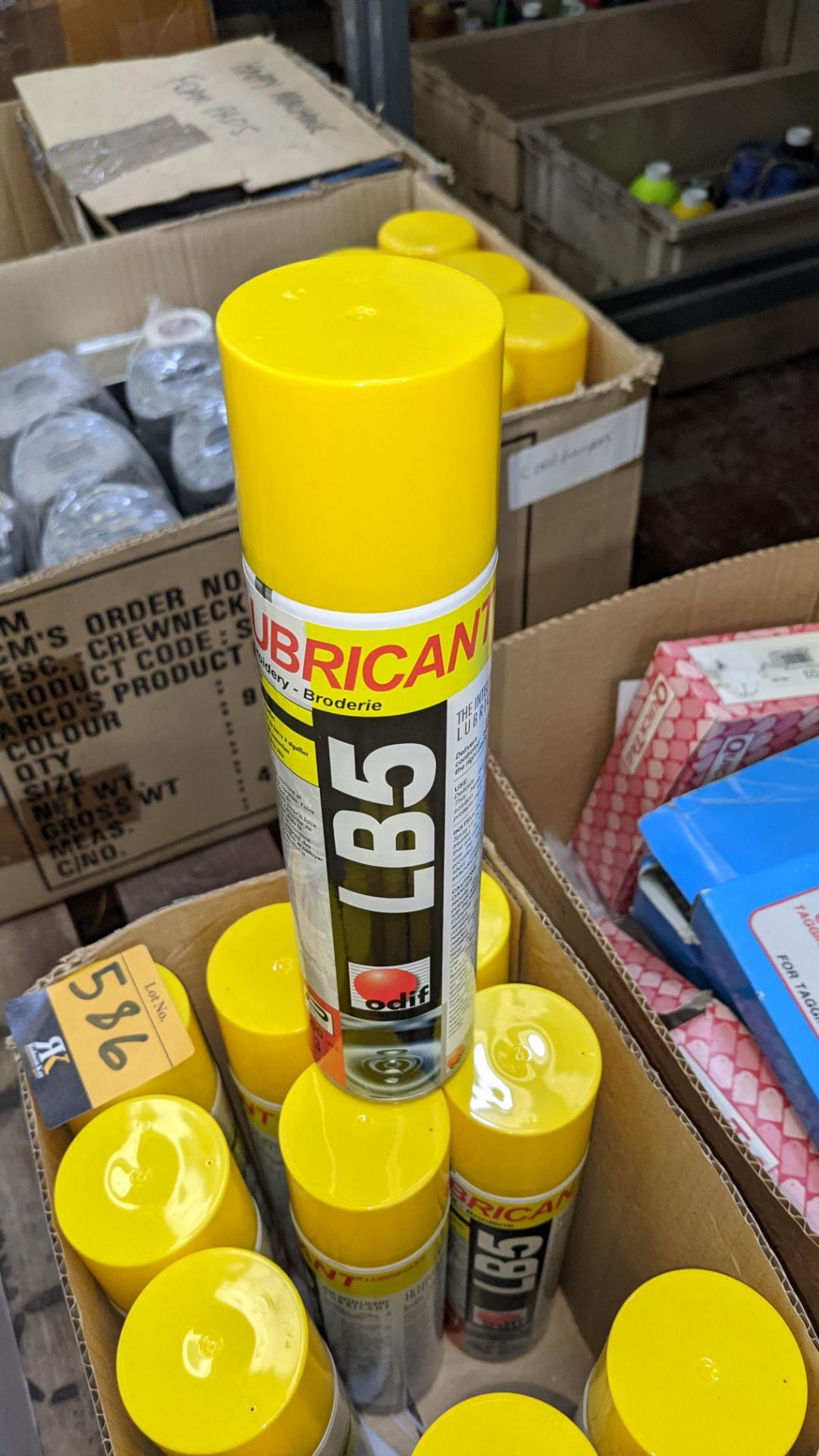 11 cans of LB5 embroidery lubricant - Image 4 of 4