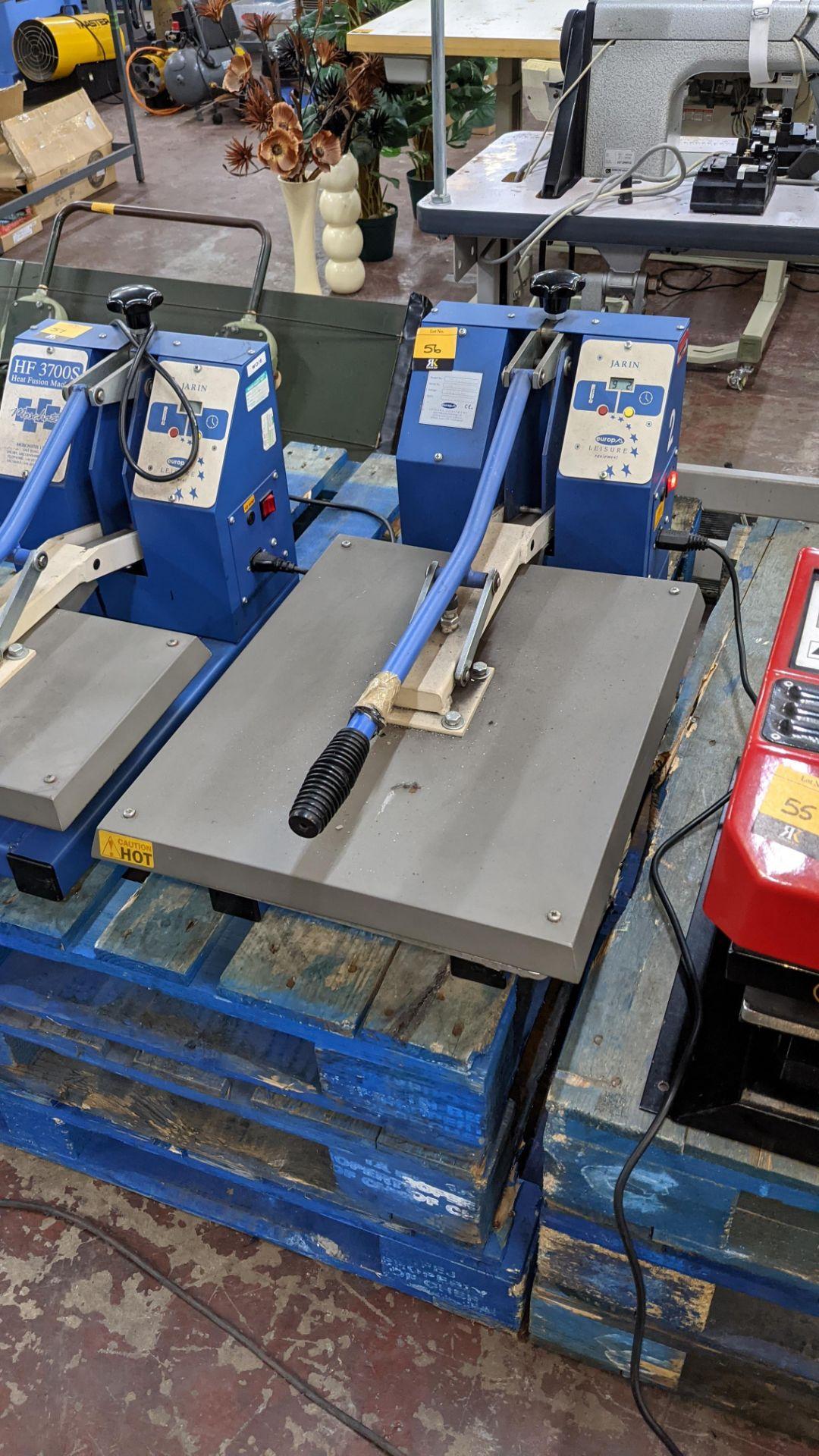 Europa Jarin benchtop heat transfer press model HF5000