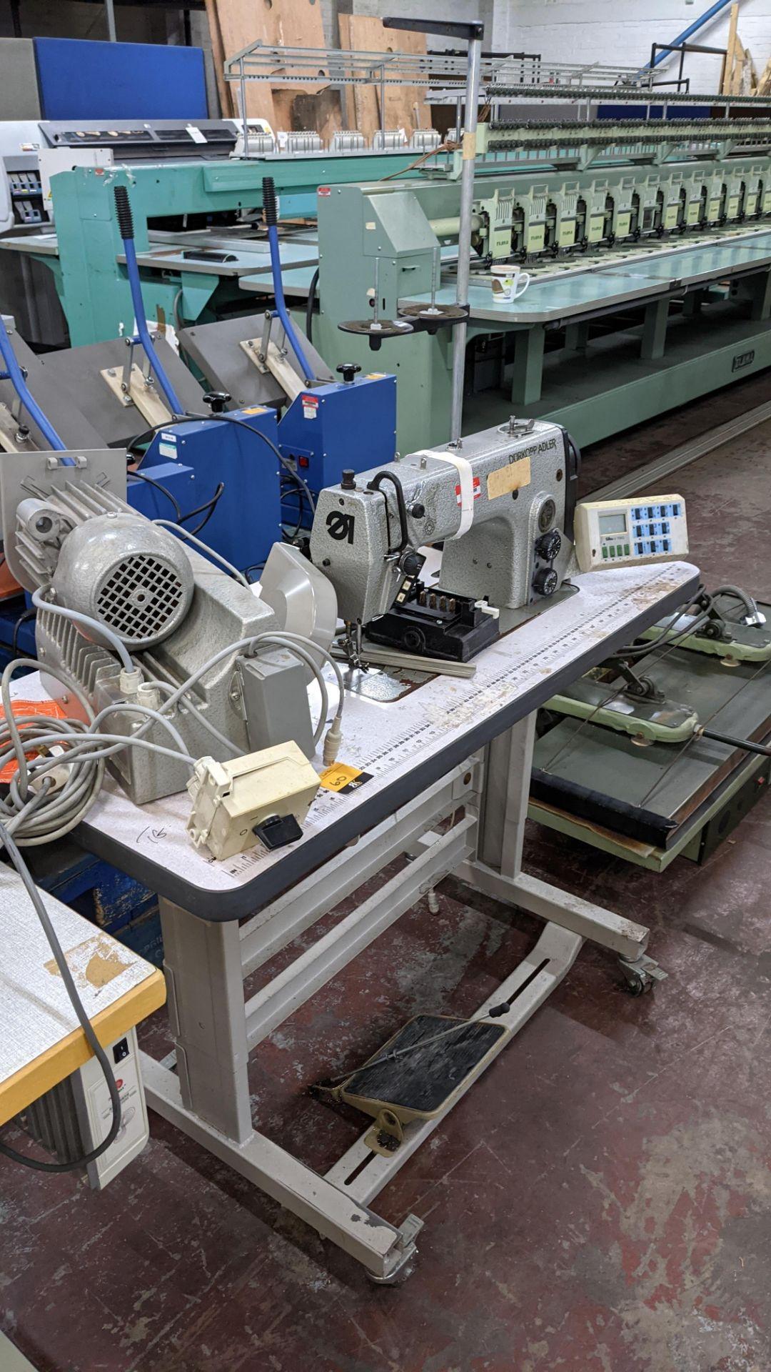 Durkopp Adler type 0271-L40042 sewing machine - Image 16 of 19