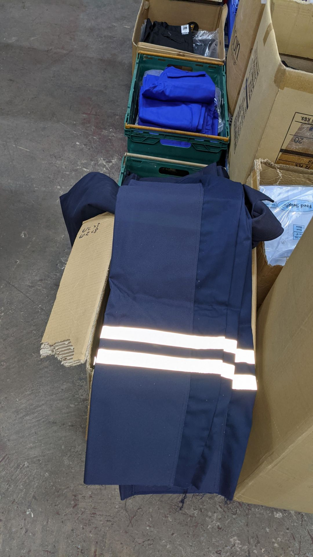 Quantity of emergency services type workwear comprising the contents of 1 box & 1 crate - Image 6 of 7