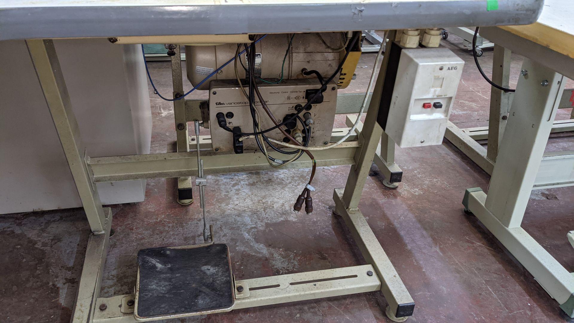 Pfaff model 563 sewing machine with Efka modular V720 digital controller - Image 12 of 13