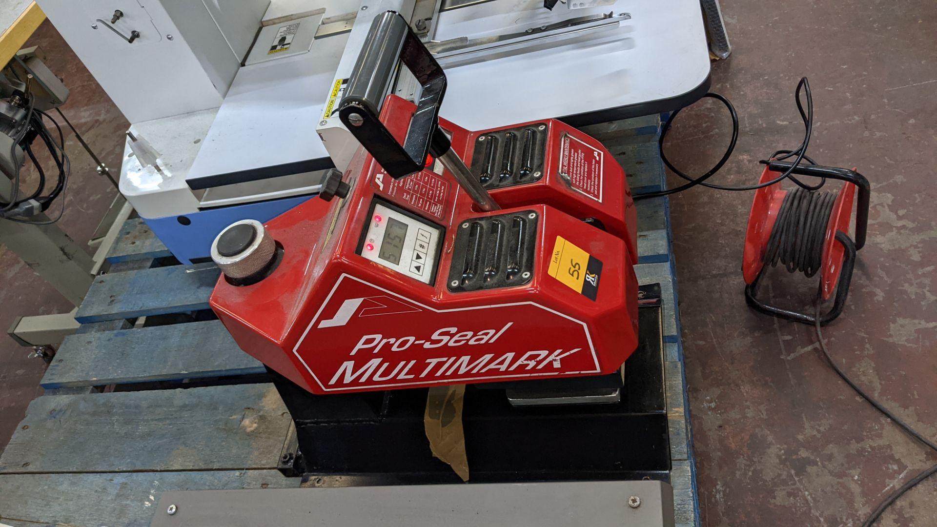 Pro-Seal Multimark heat sealing machine - Image 5 of 10