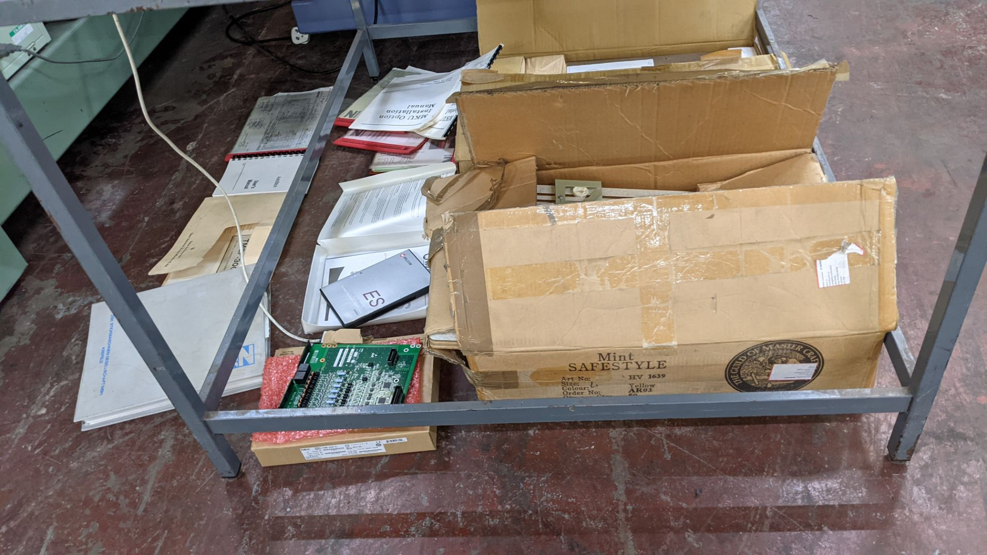 Quantity of spares/ancillaries in 3 boxes as pictured plus quantity of machine manuals/software - th - Image 2 of 12