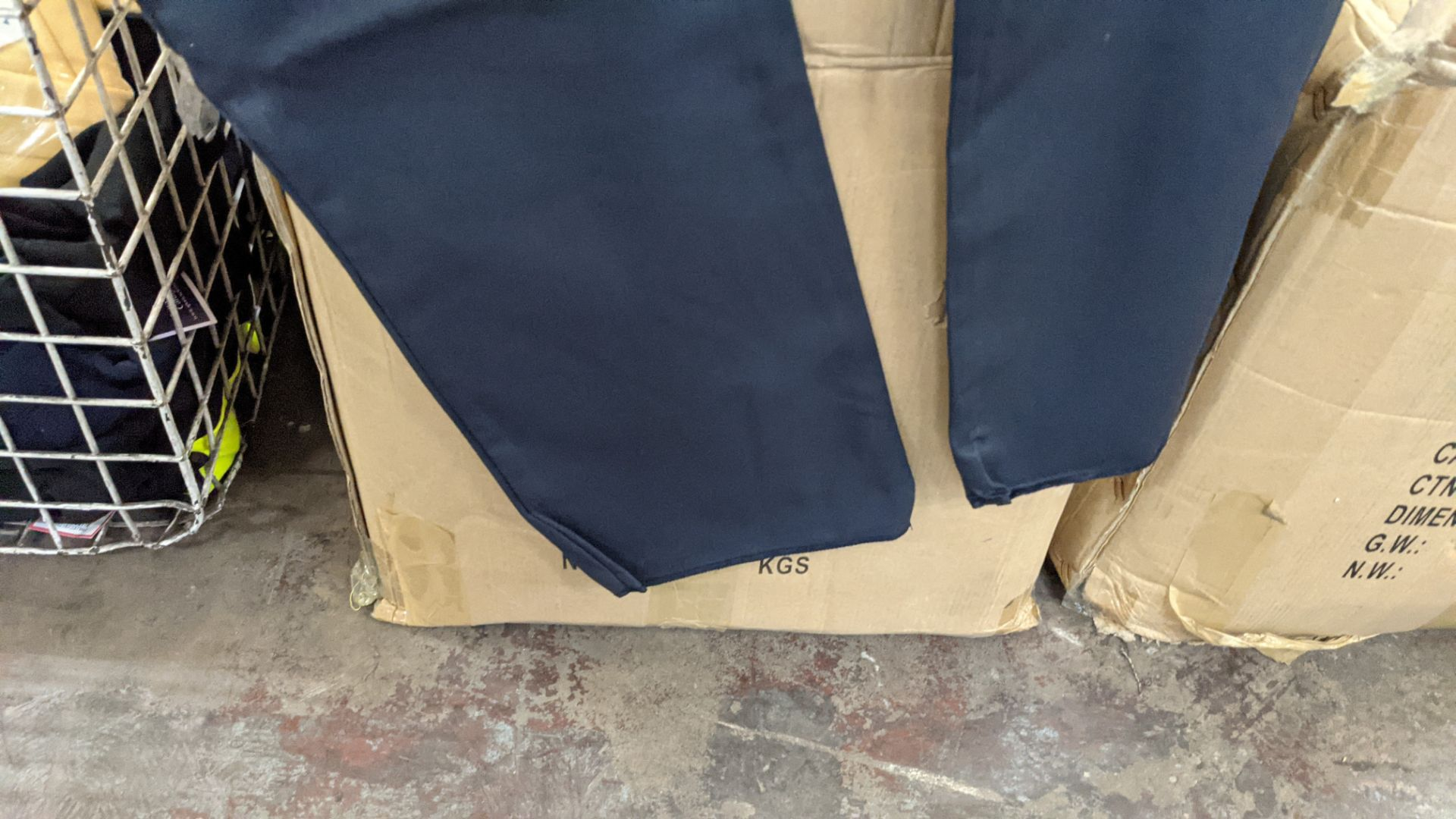 Approx 40 pairs of dark grey trousers - Image 5 of 5