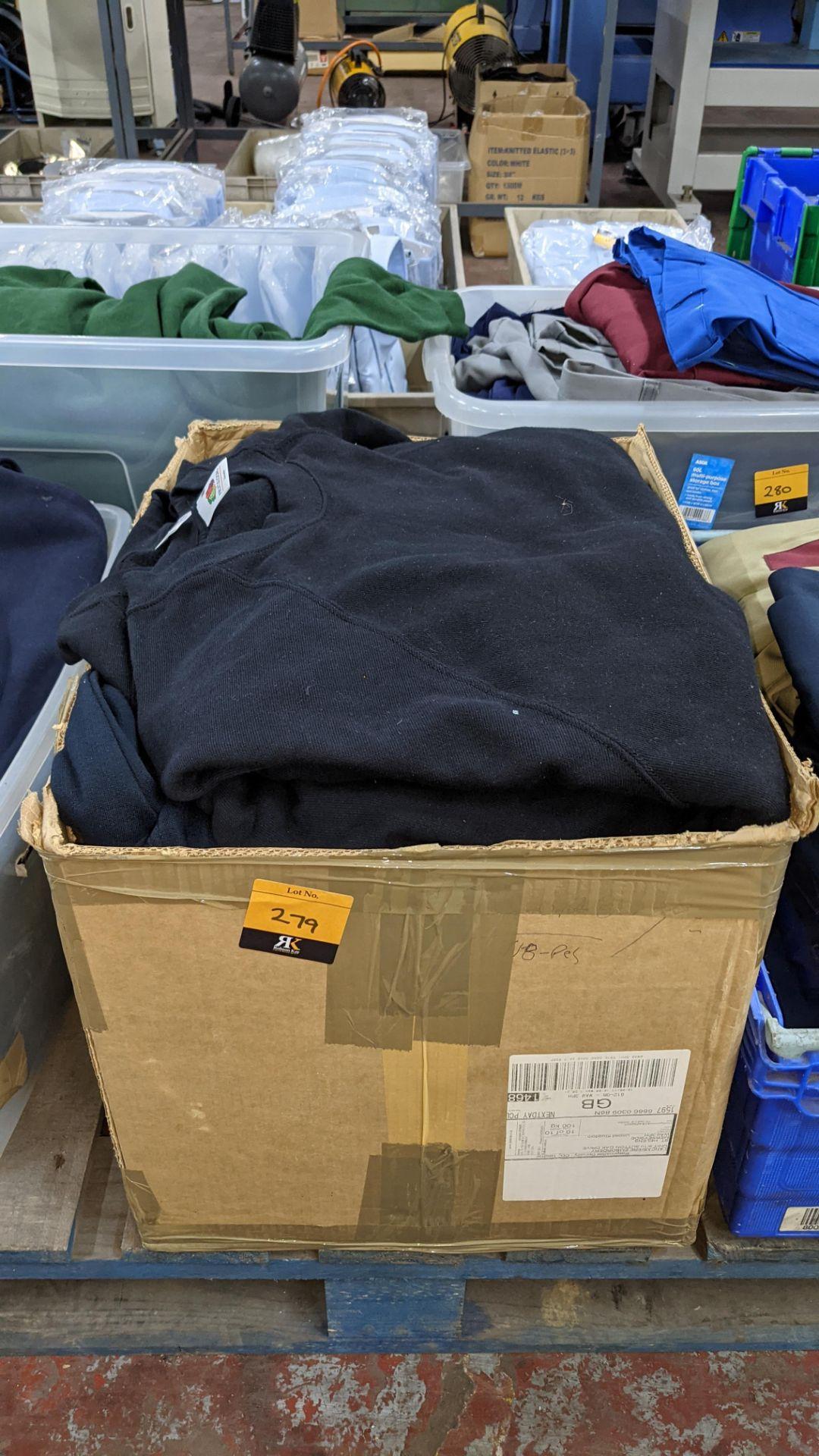 Quantity of black sweatshirts - 1 large box - Image 2 of 4