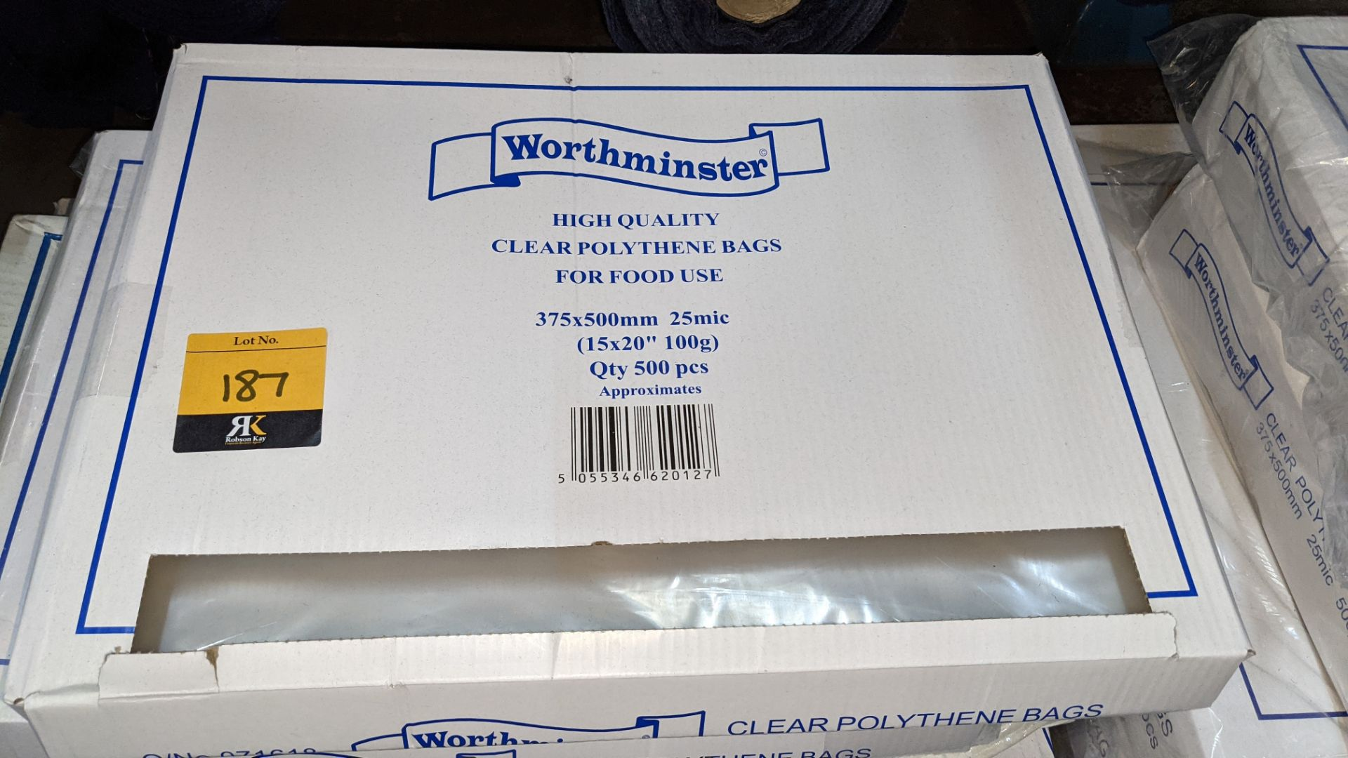 4 boxes of clear food bags by Worthminster - Image 3 of 6
