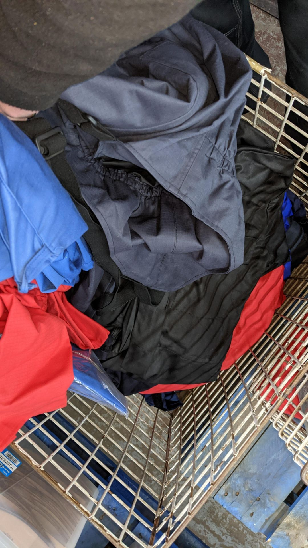 The contents of a cage of assorted work clothing. NB cage excluded - Image 8 of 8