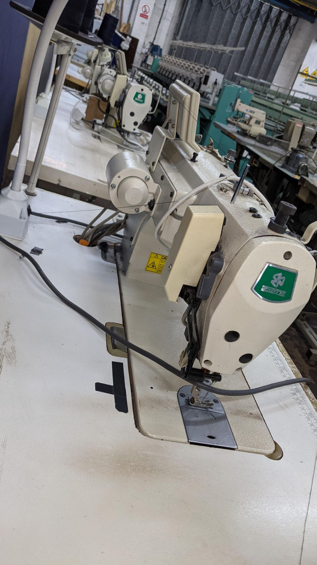 Zoje model ZJ9800A-D3B/PF lockstitch sewing machine with model WR-501 digital controller - Image 11 of 20