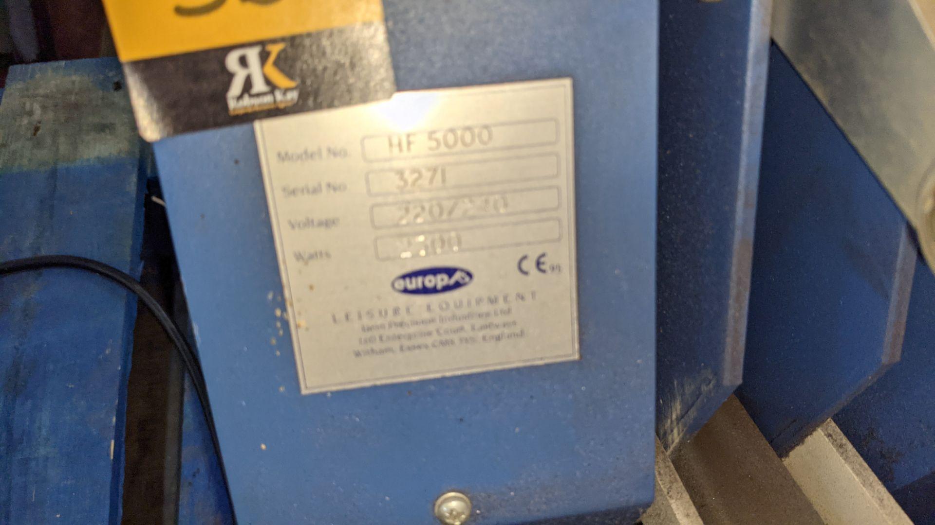 Europa Jarin benchtop heat transfer press model HF5000 - Image 11 of 13