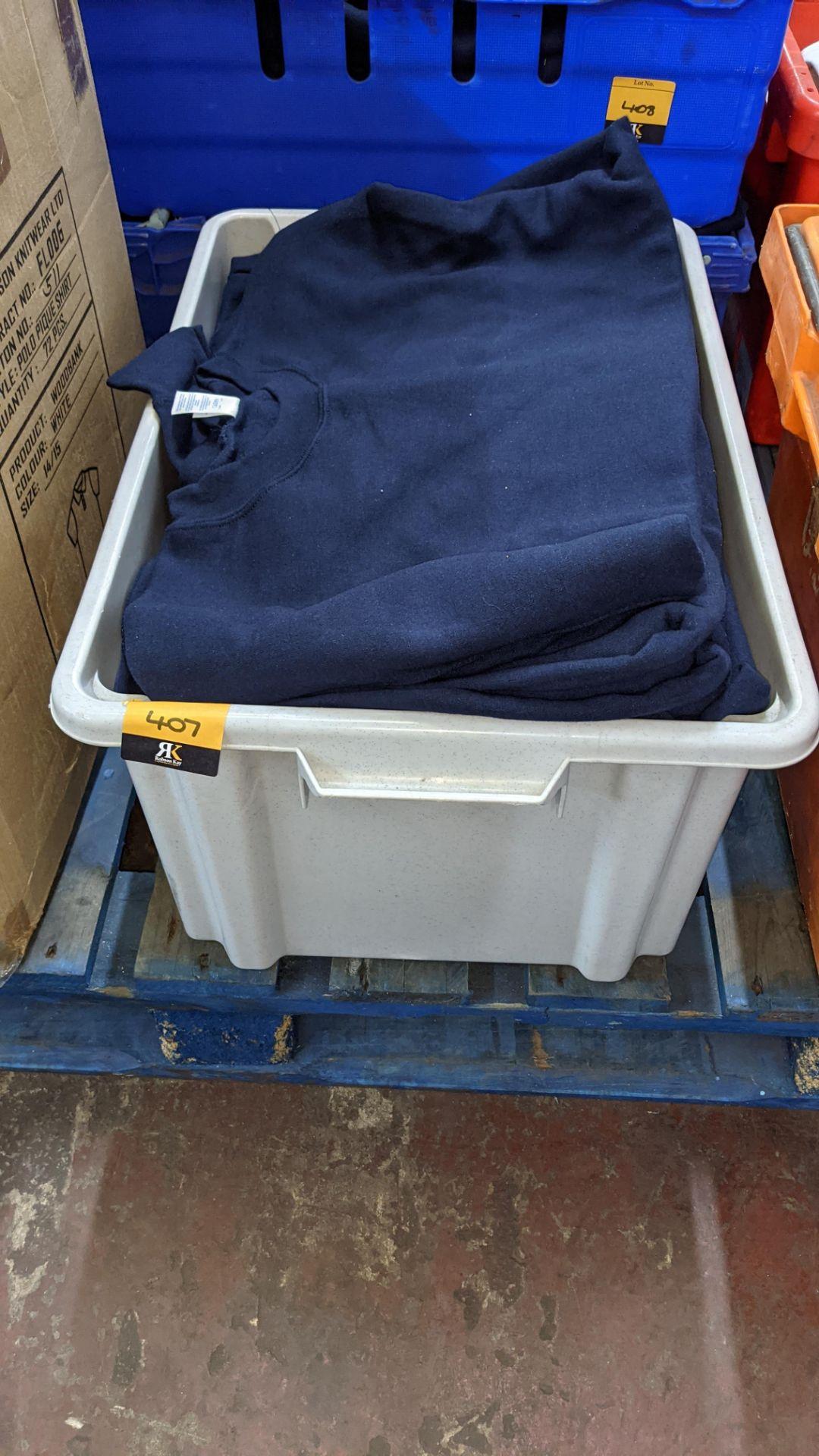 Quantity of blue sweatshirts - Image 2 of 6