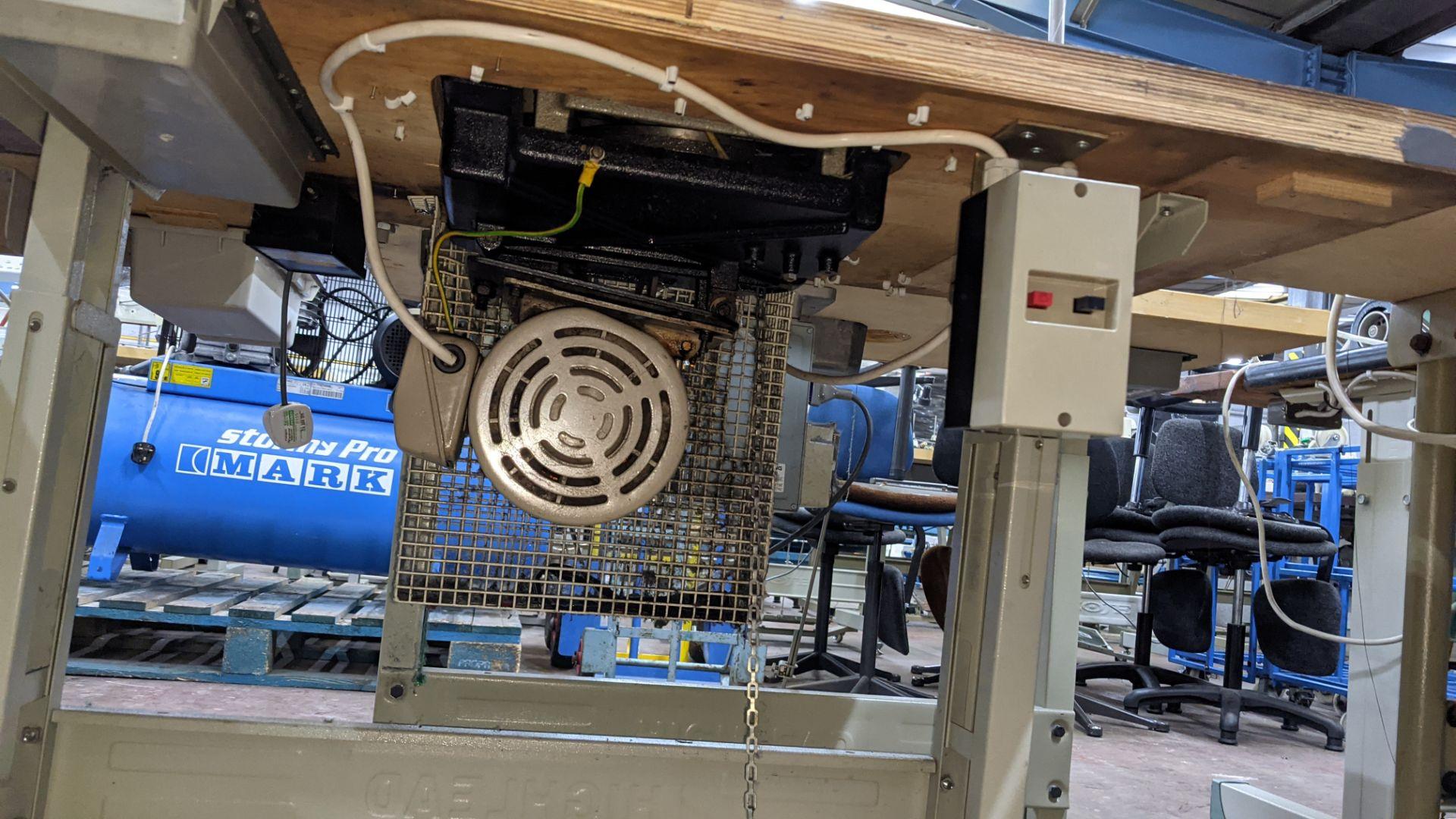 Brother bar tack sewing machine model LK3-B430-2 - Image 14 of 15