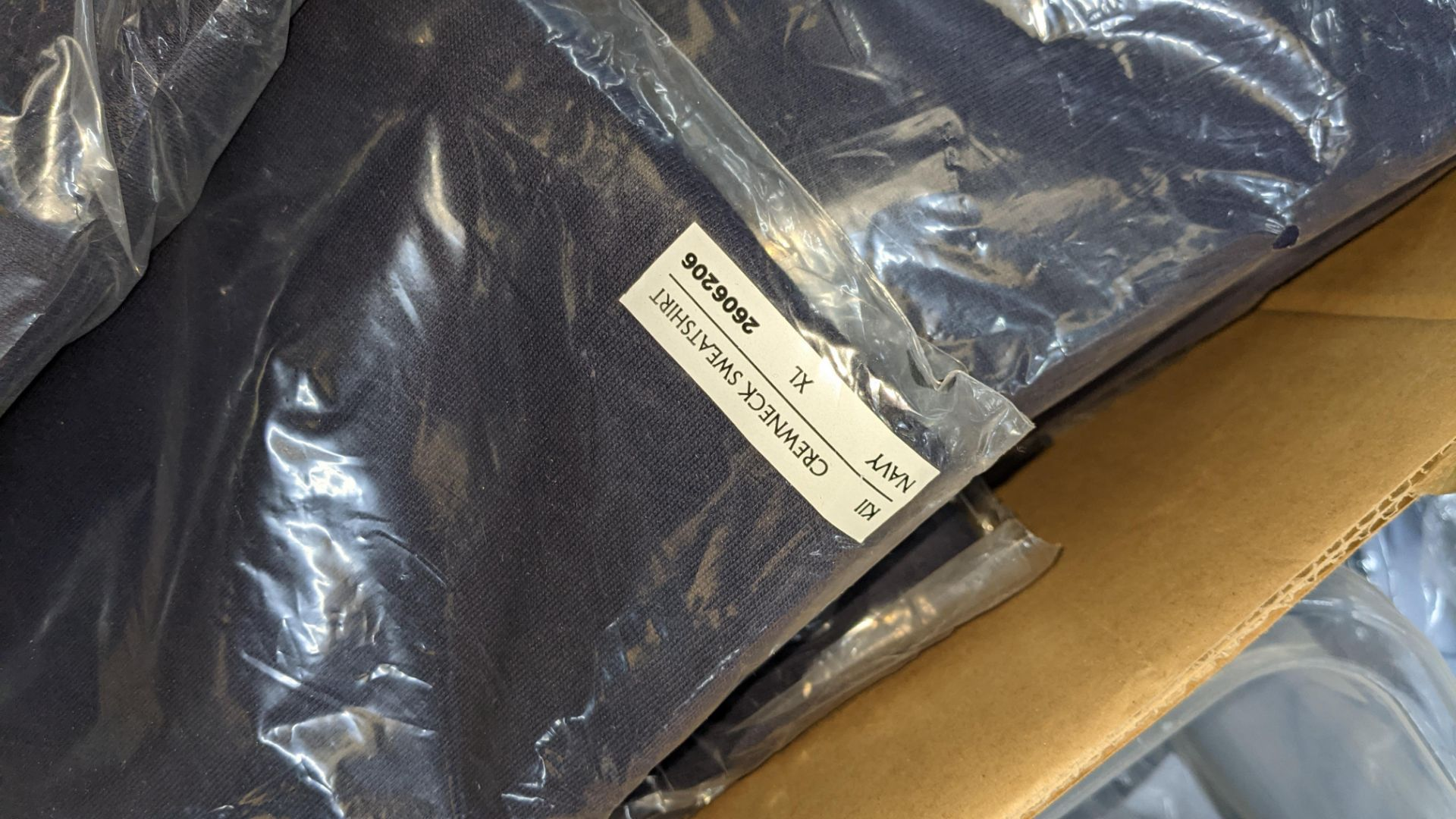 Approx 27 off blue sweatshirts - 1 large box - Image 5 of 5